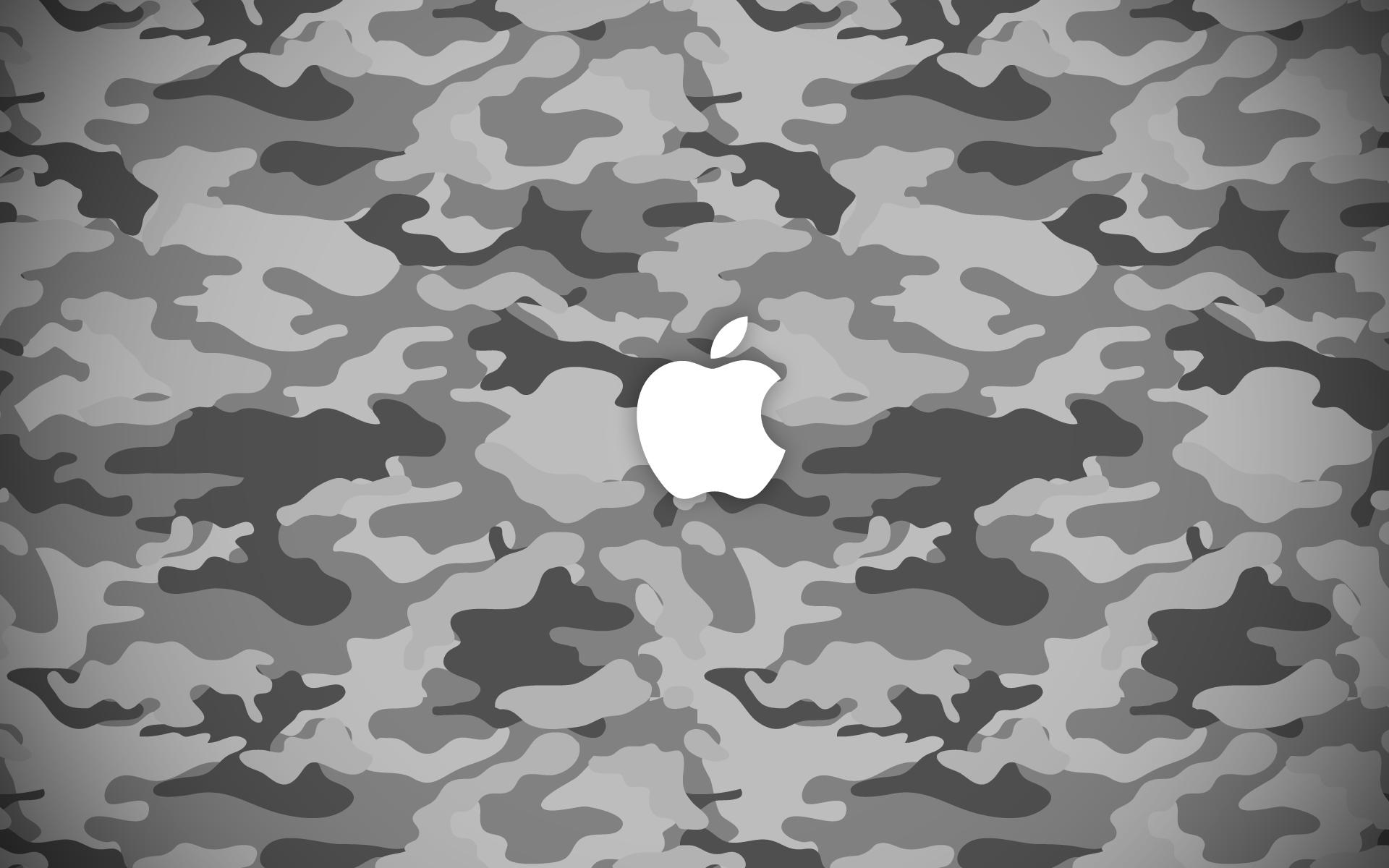 Apple Camo Wallpaper