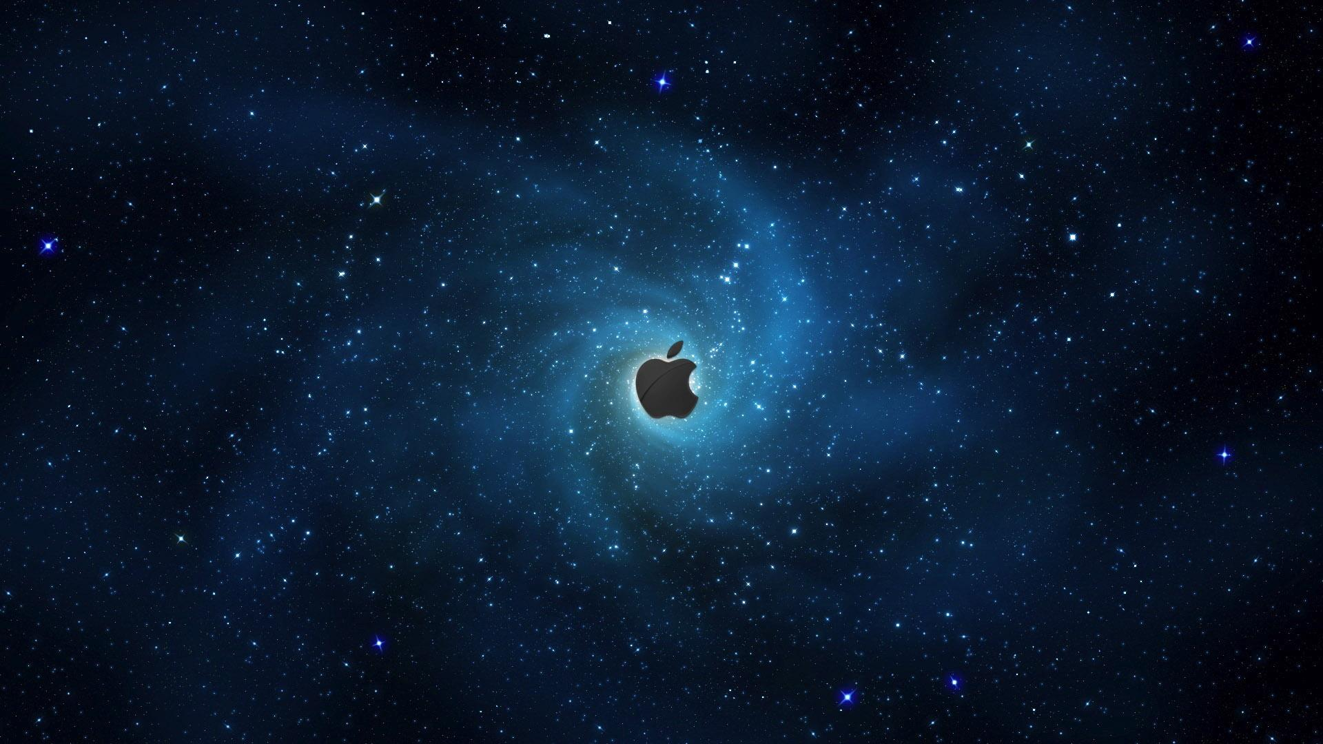 Apple Galaxy Background