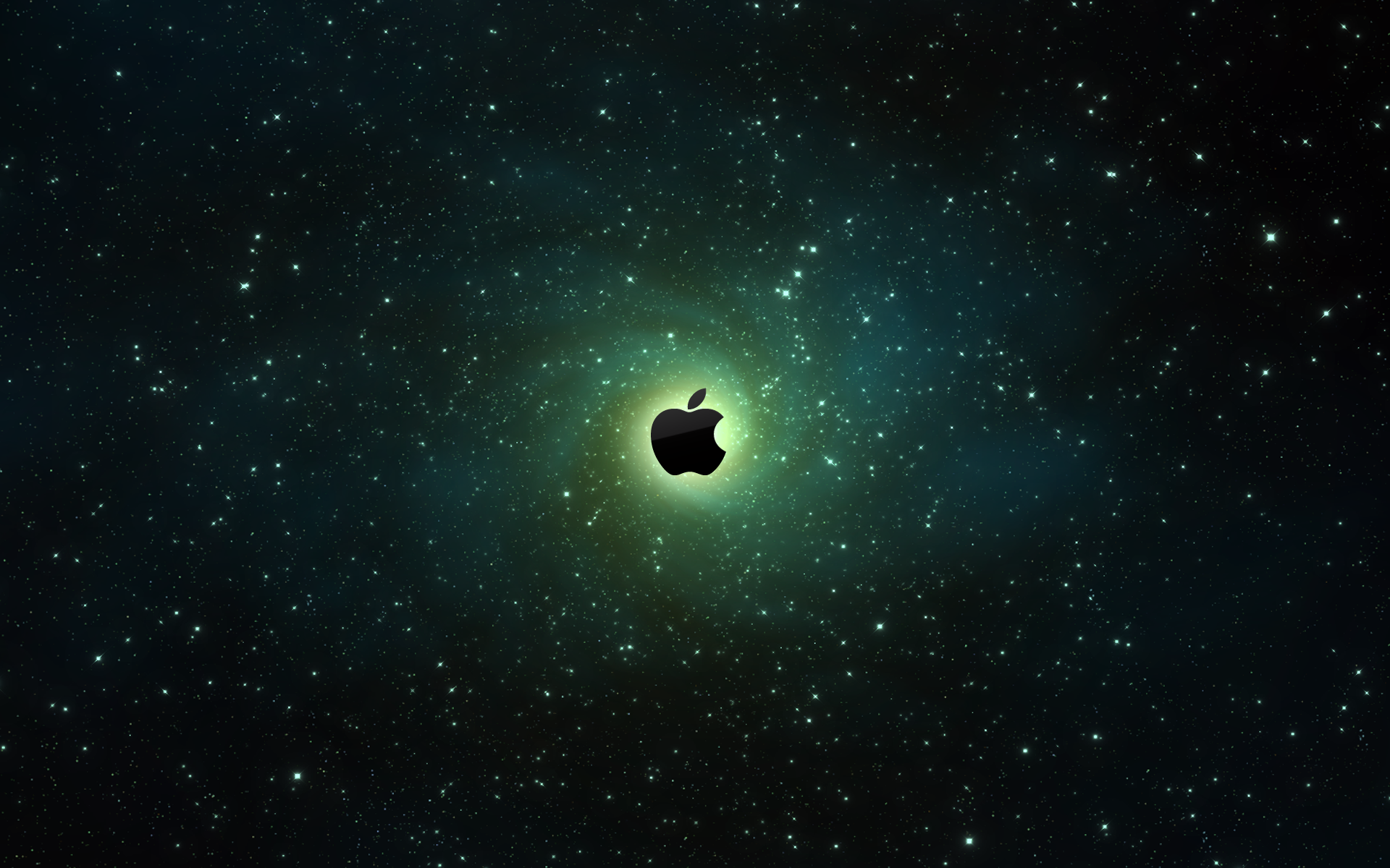 Apple Galaxy Wallpaper