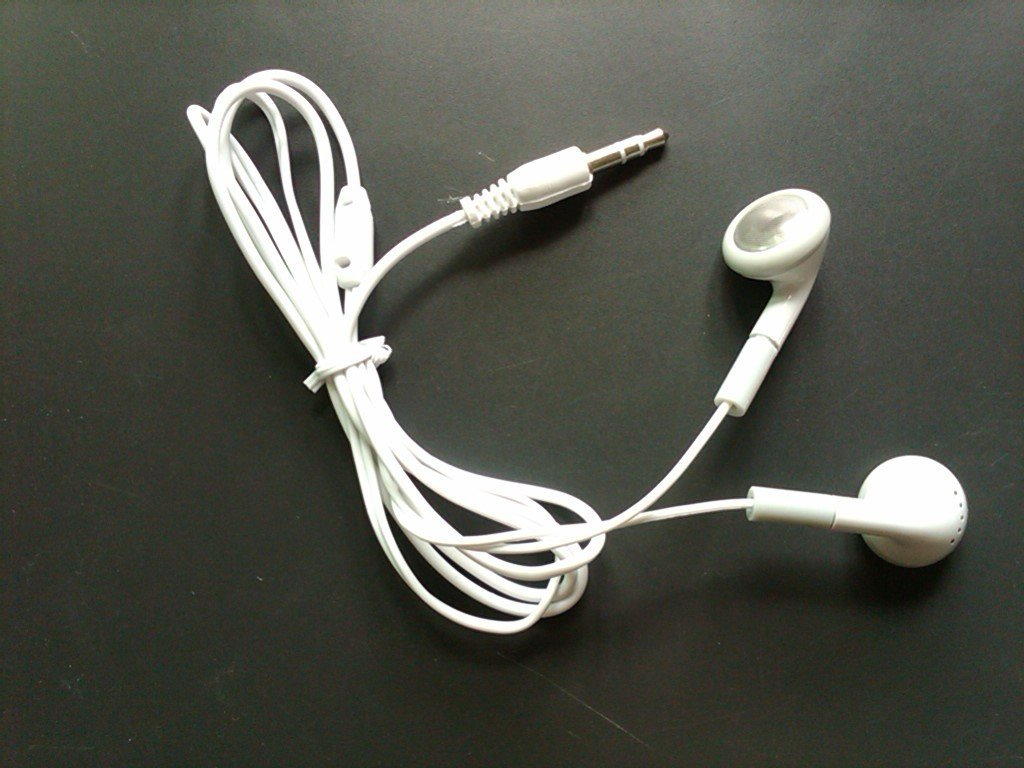 Cheapest Earphone For Apple iPod//Mp3, MP4 Player 3.5mm Headphone with 200pcs ...