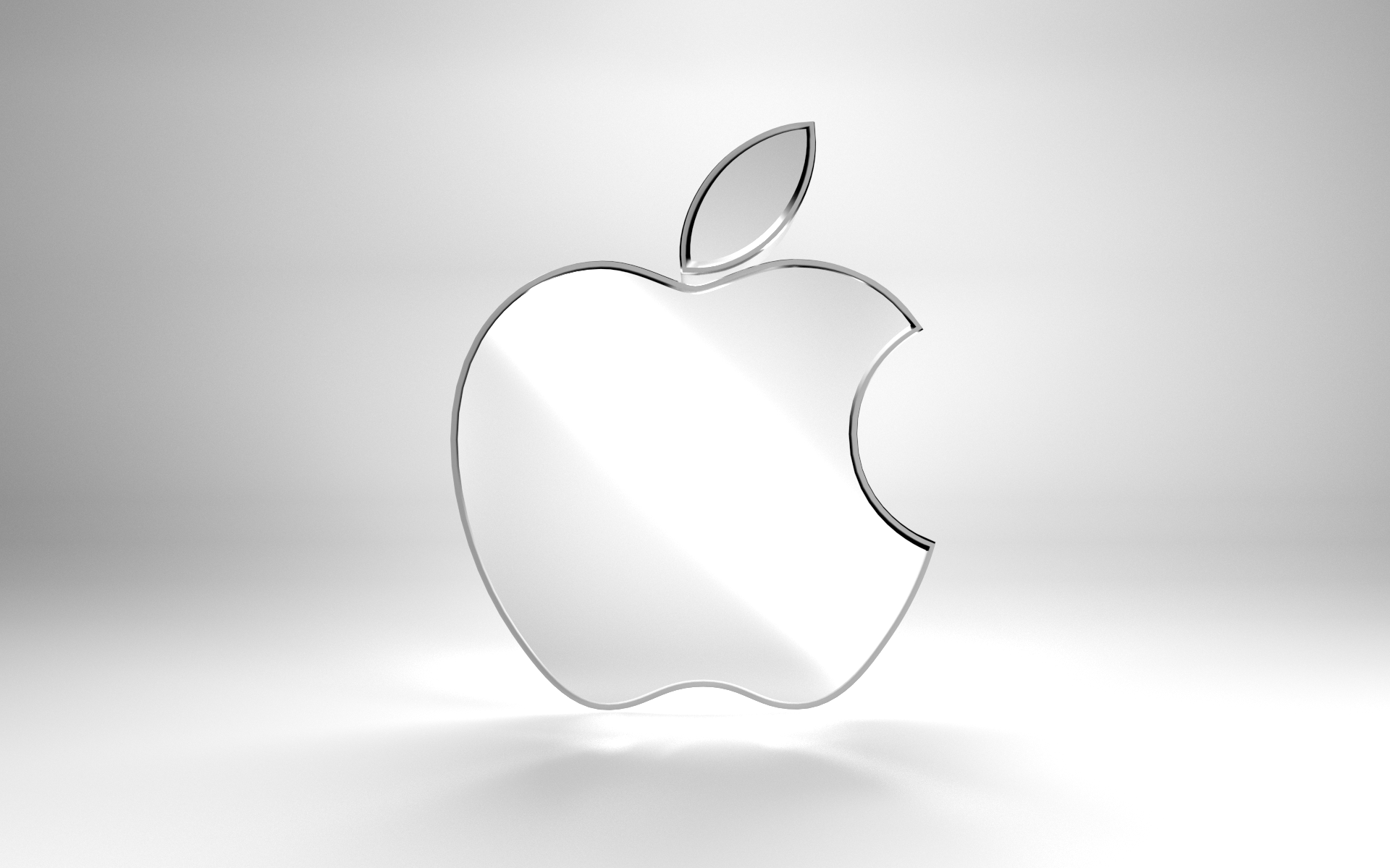 Metallic Apple Logo by Beanz239 Metallic Apple Logo by Beanz239