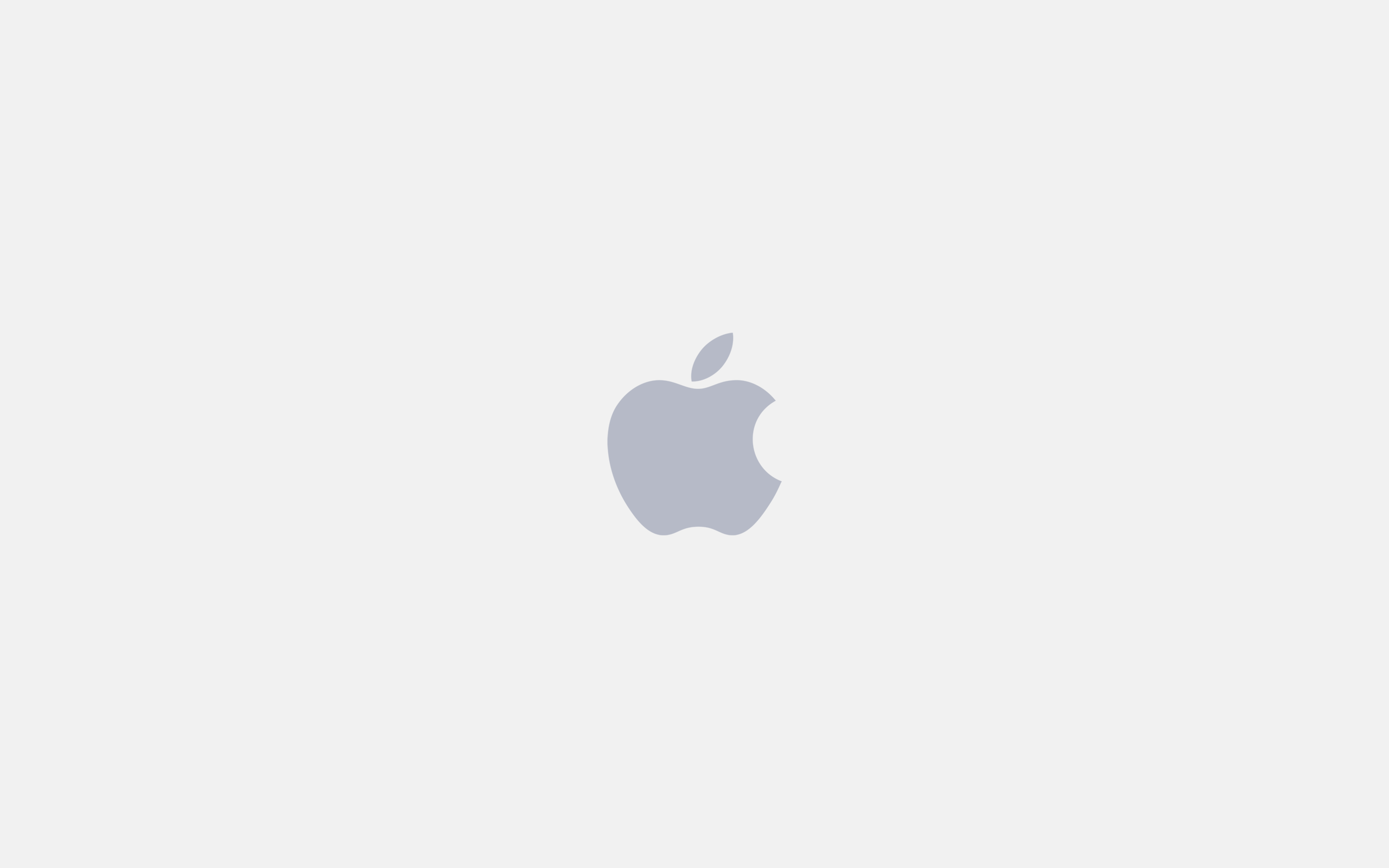 ... White Apple Logo Wallpaper