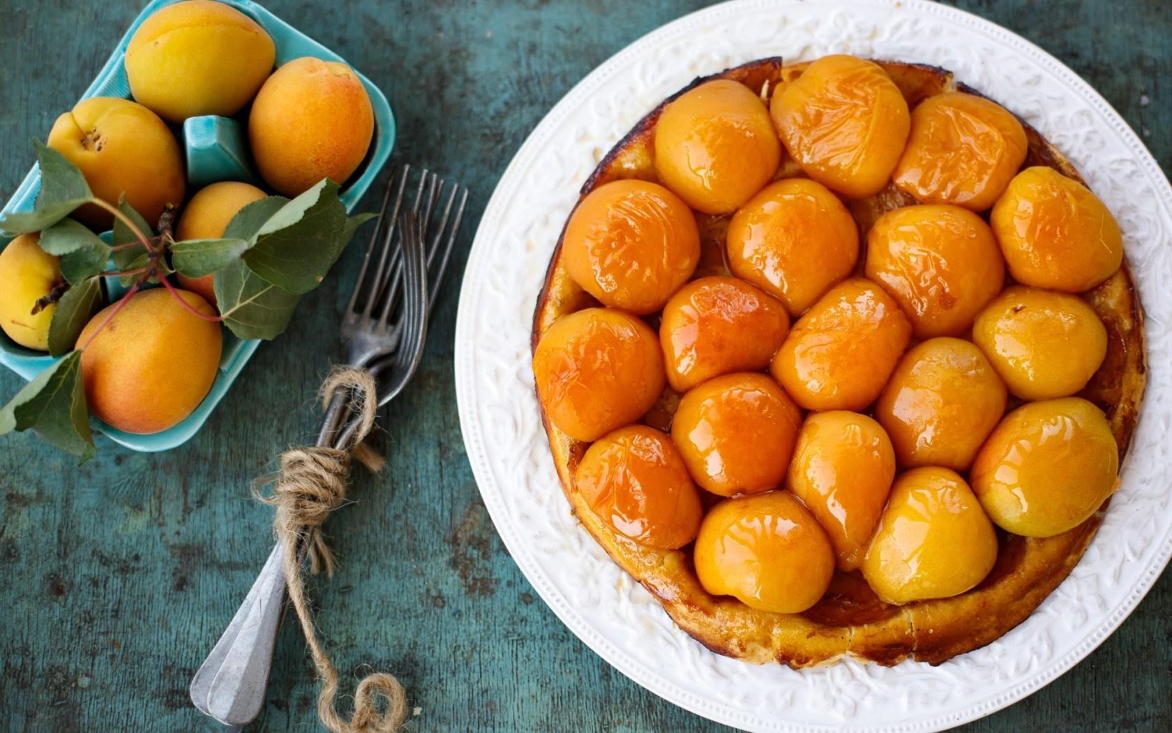 Apricots Fruit Dessert Food