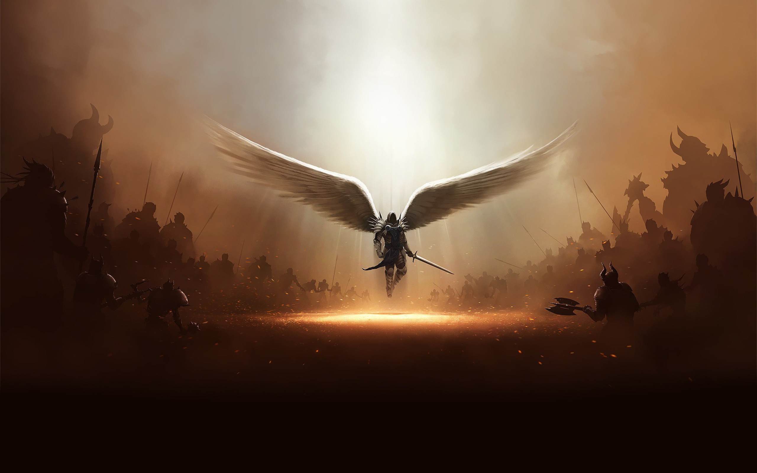 Archangel Art Draw