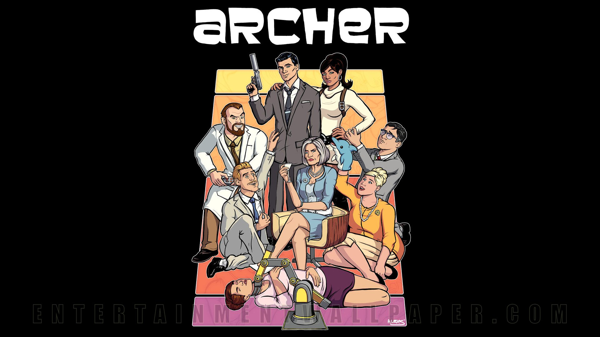 Archer Wallpaper - Original size, download now.