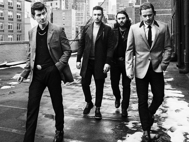 Arctic Monkeys May Esquire Magazine Wallpaper
