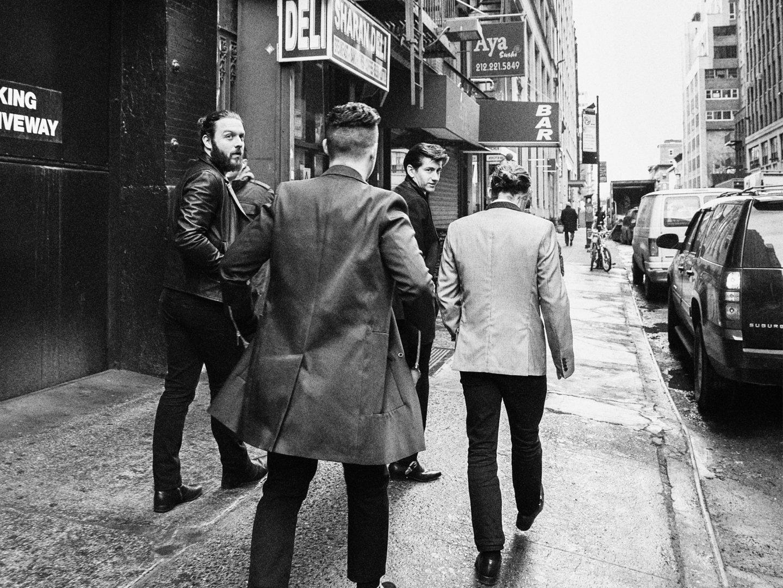 Arctic Monkeys Esquire New York 2014