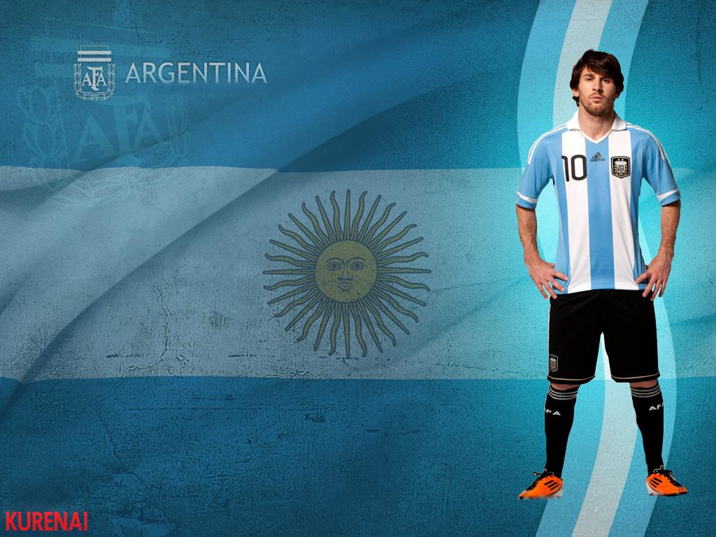 L. MESSI / ARGENTINA Wallpaper by KURENAI