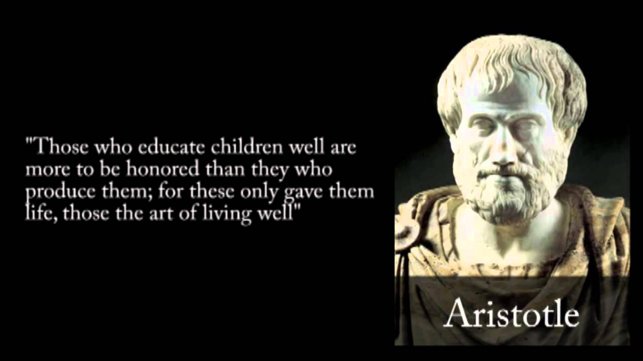Aristotle quotes video