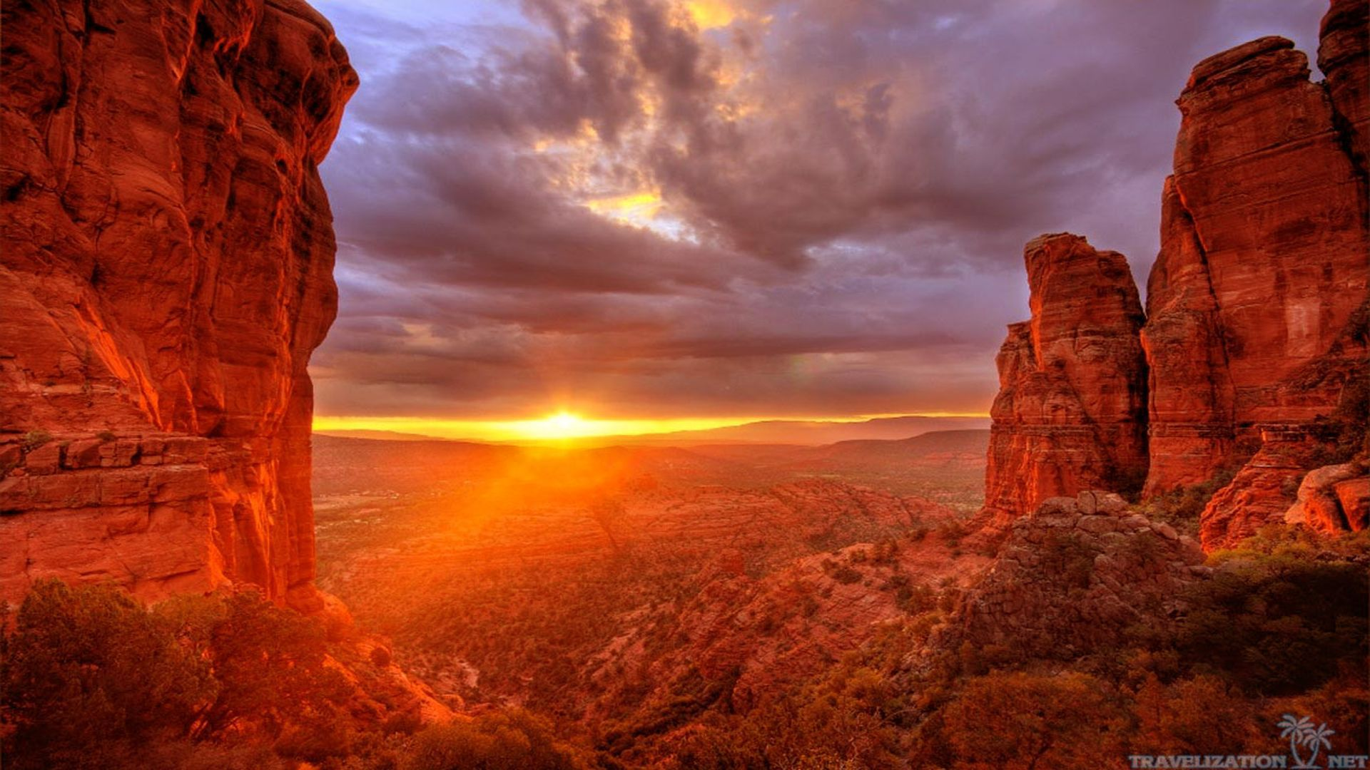 Arizona Sunset Pictures wallpaper 1920x1080 79403