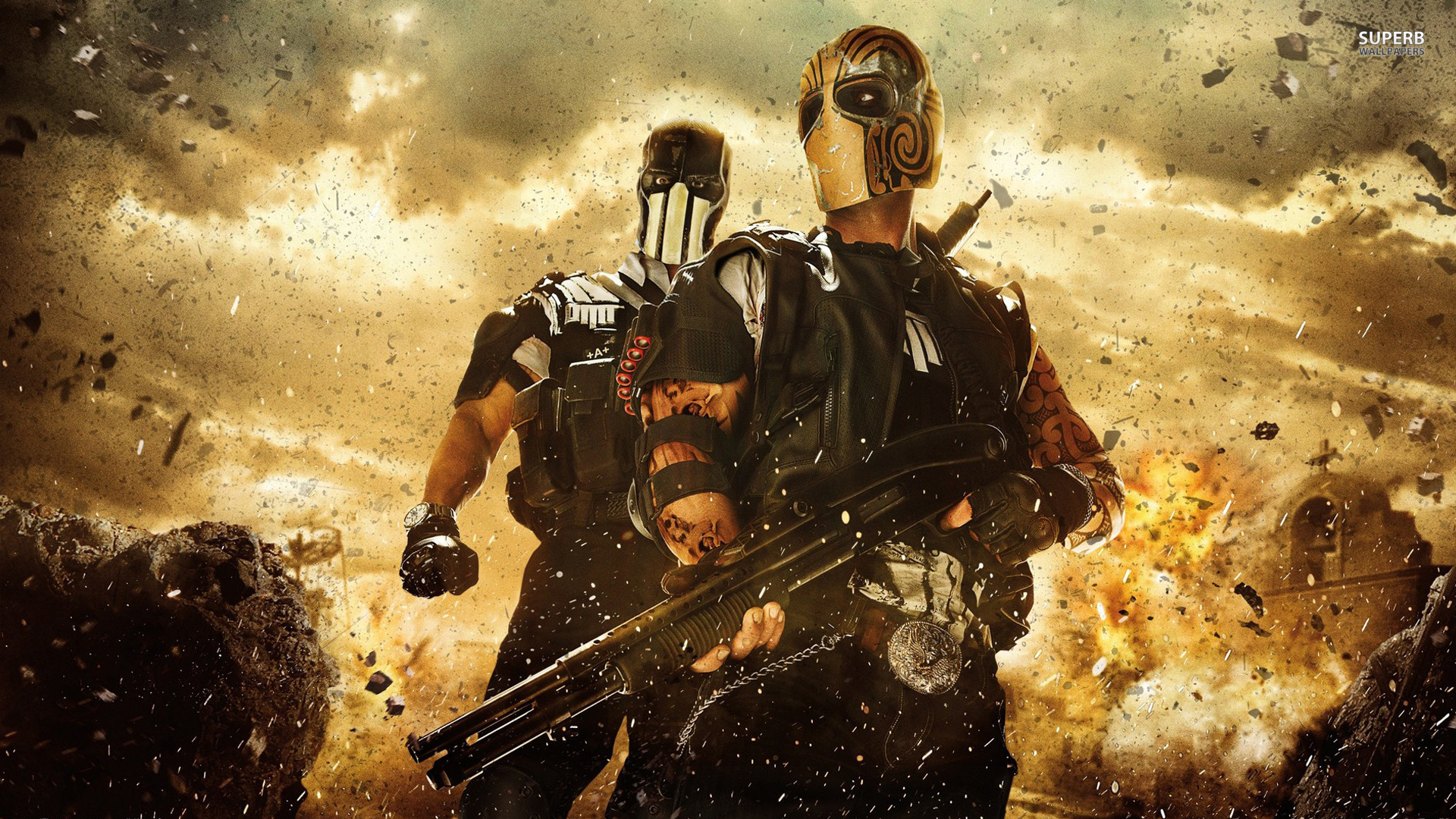Alpha and Bravo - Army of Two: The Devil's Cartel wallpaper 1920x1080 jpg