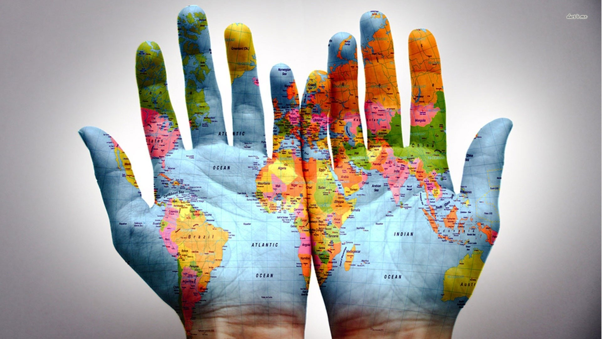 I got the whole world in my hands