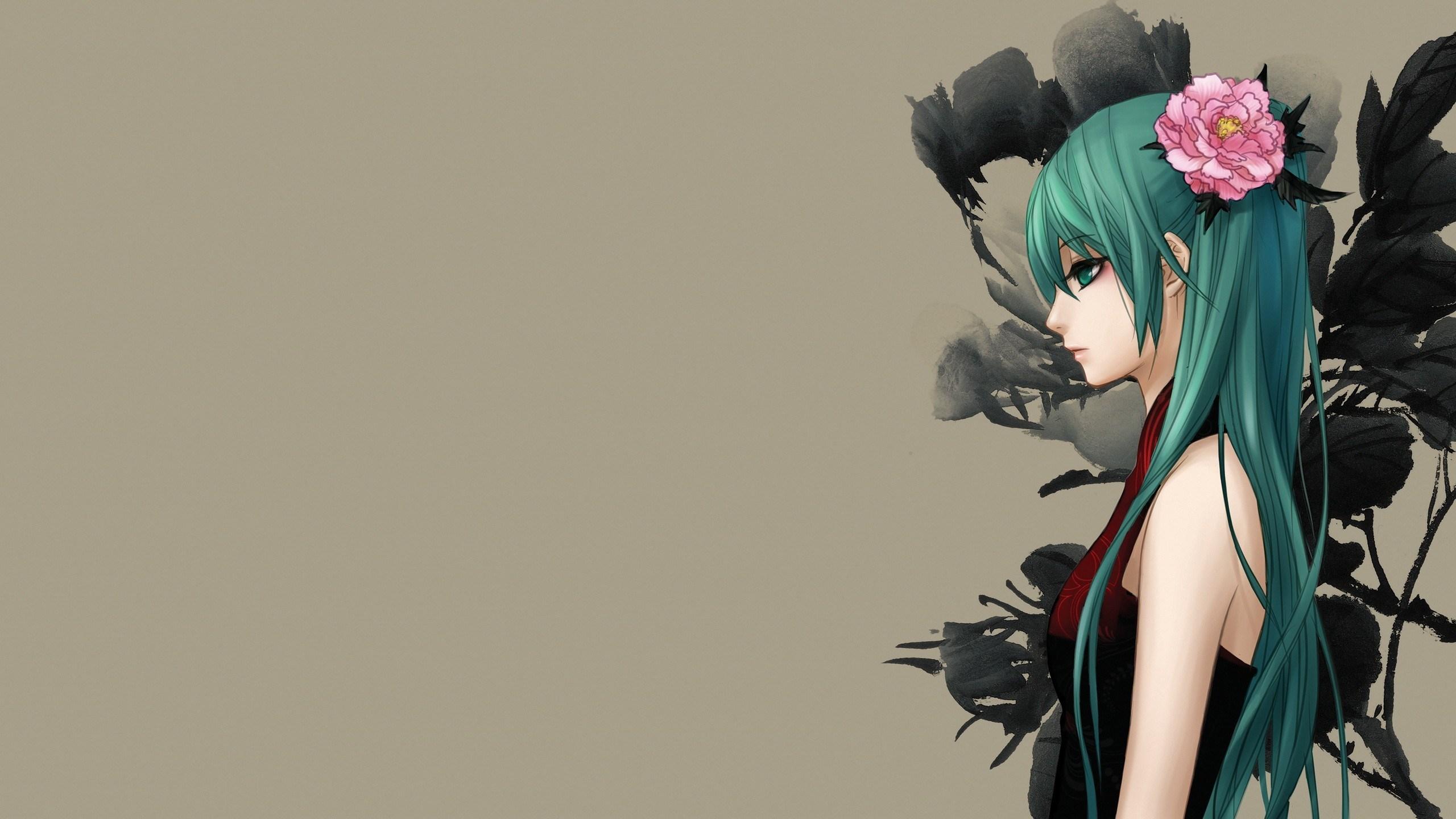 Hatsune Miku Art Anime Girl