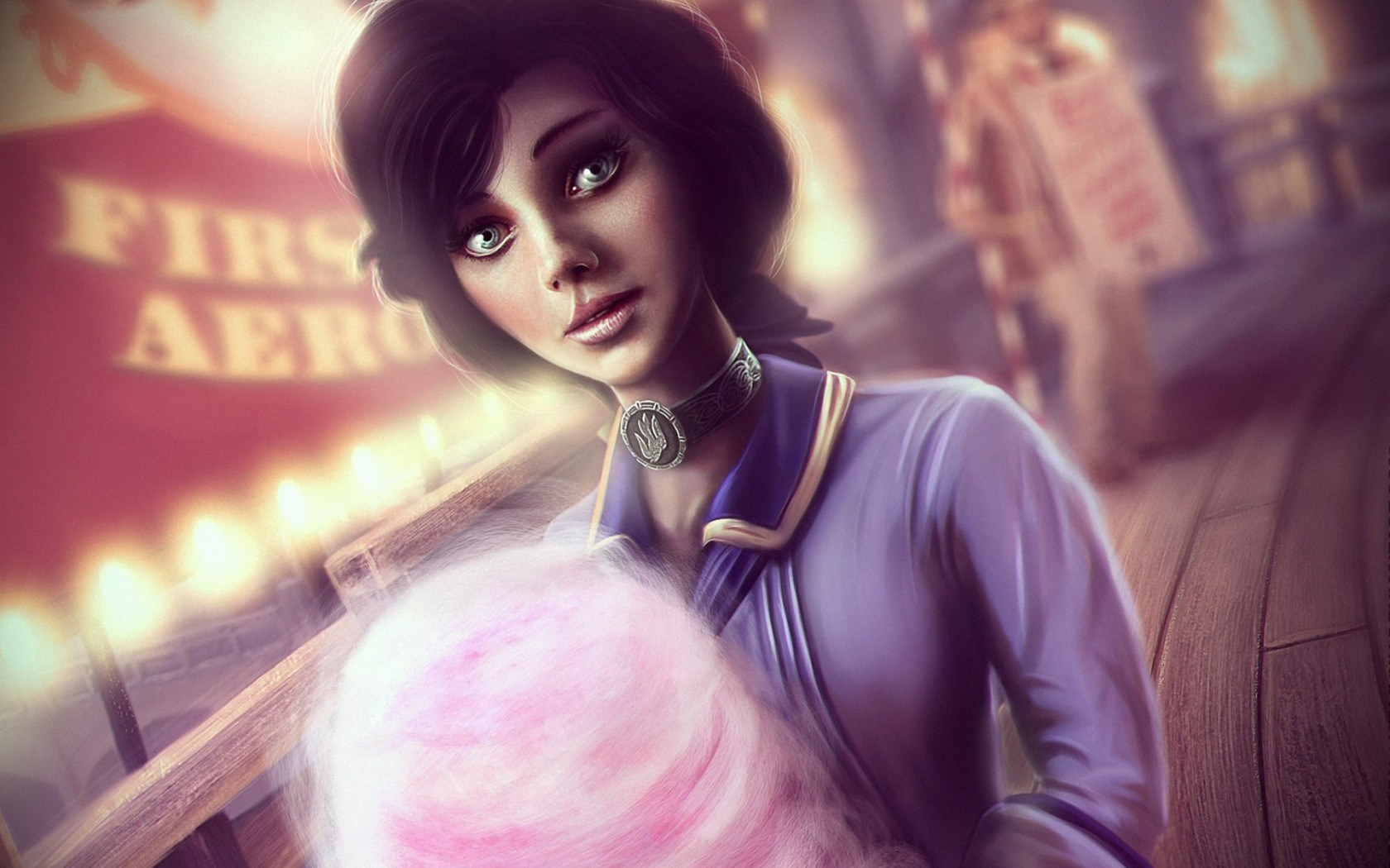 Art BioShock Girl Game