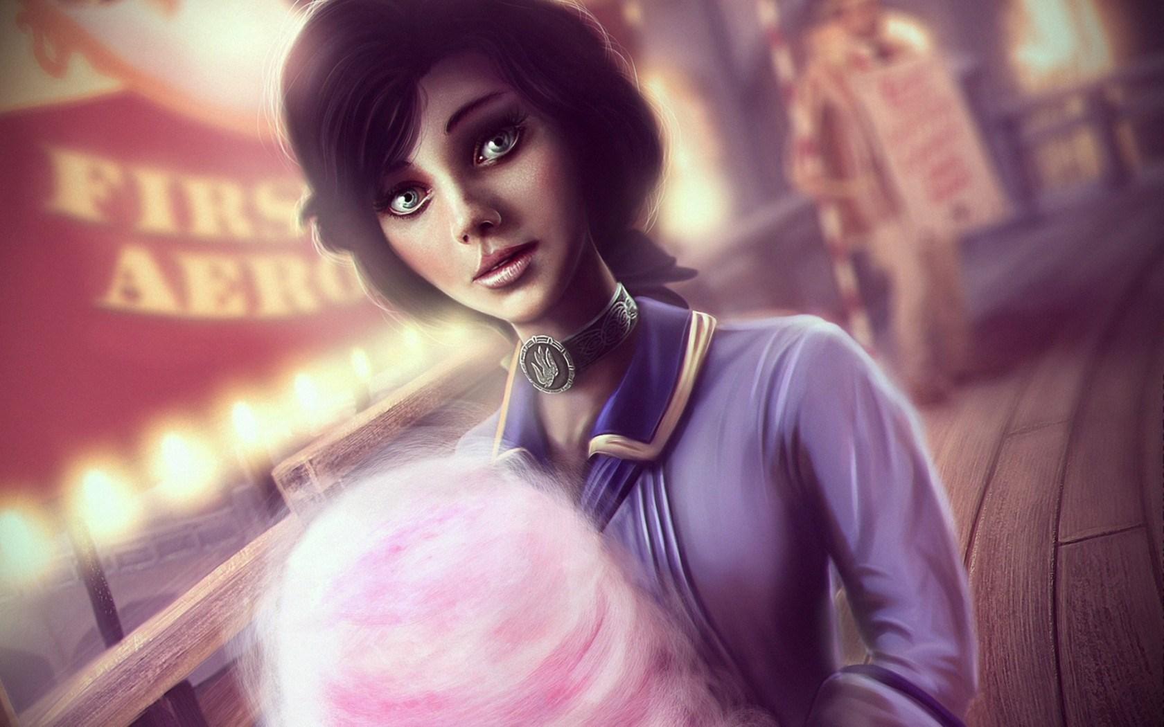 Art BioShock Girl Game
