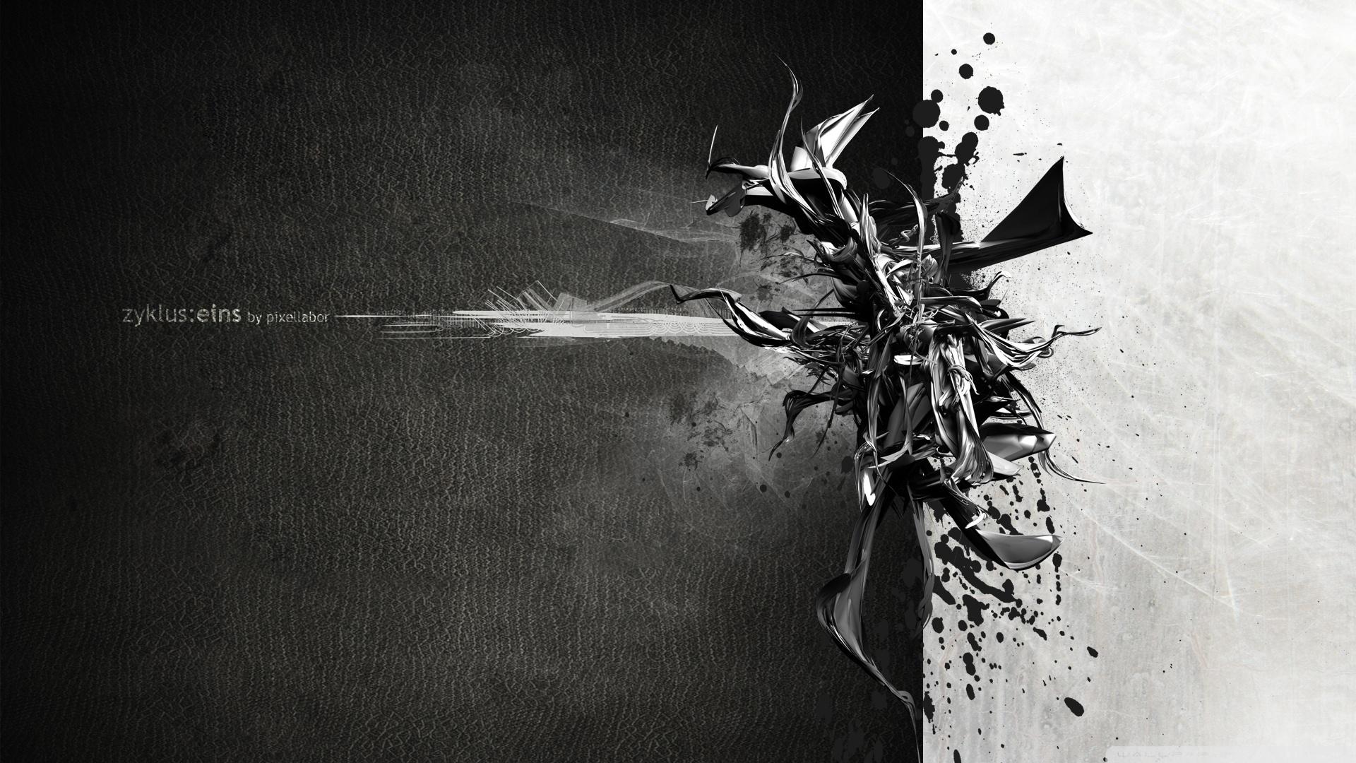 art black and white #1