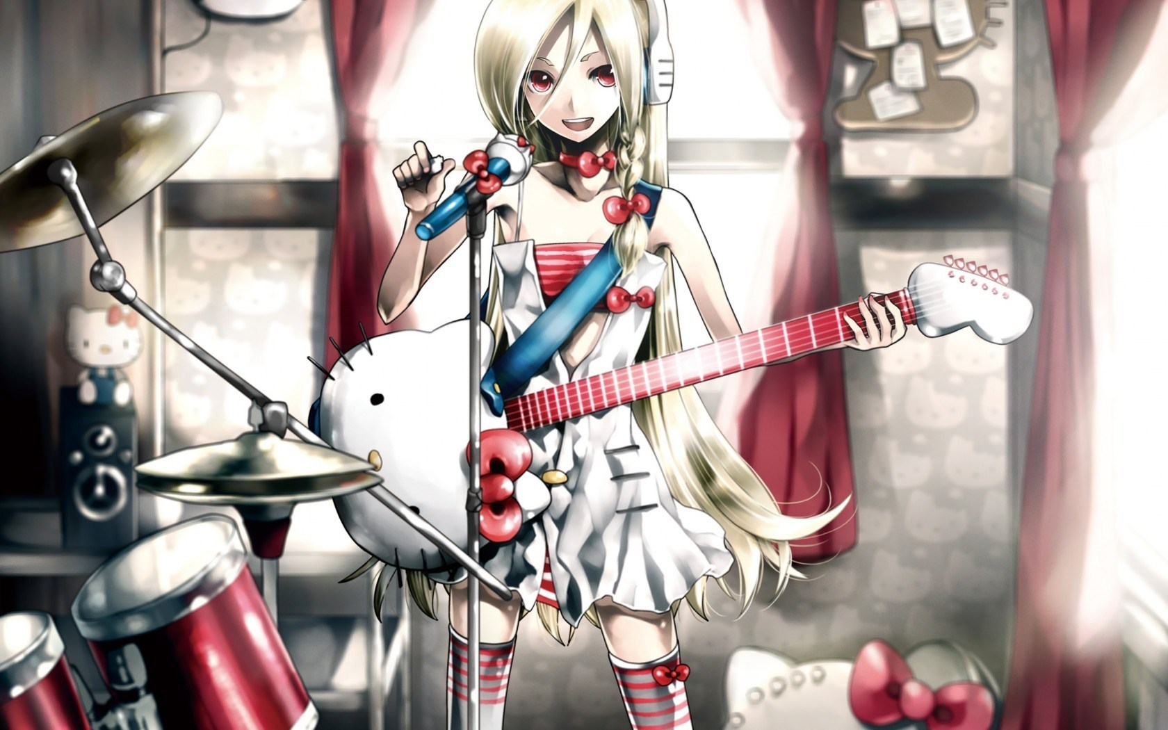 Cool Wallpaper Music Anime - art-blonde-girl-hello-kitty-guitar-music-anime-1  2018_446960.jpg