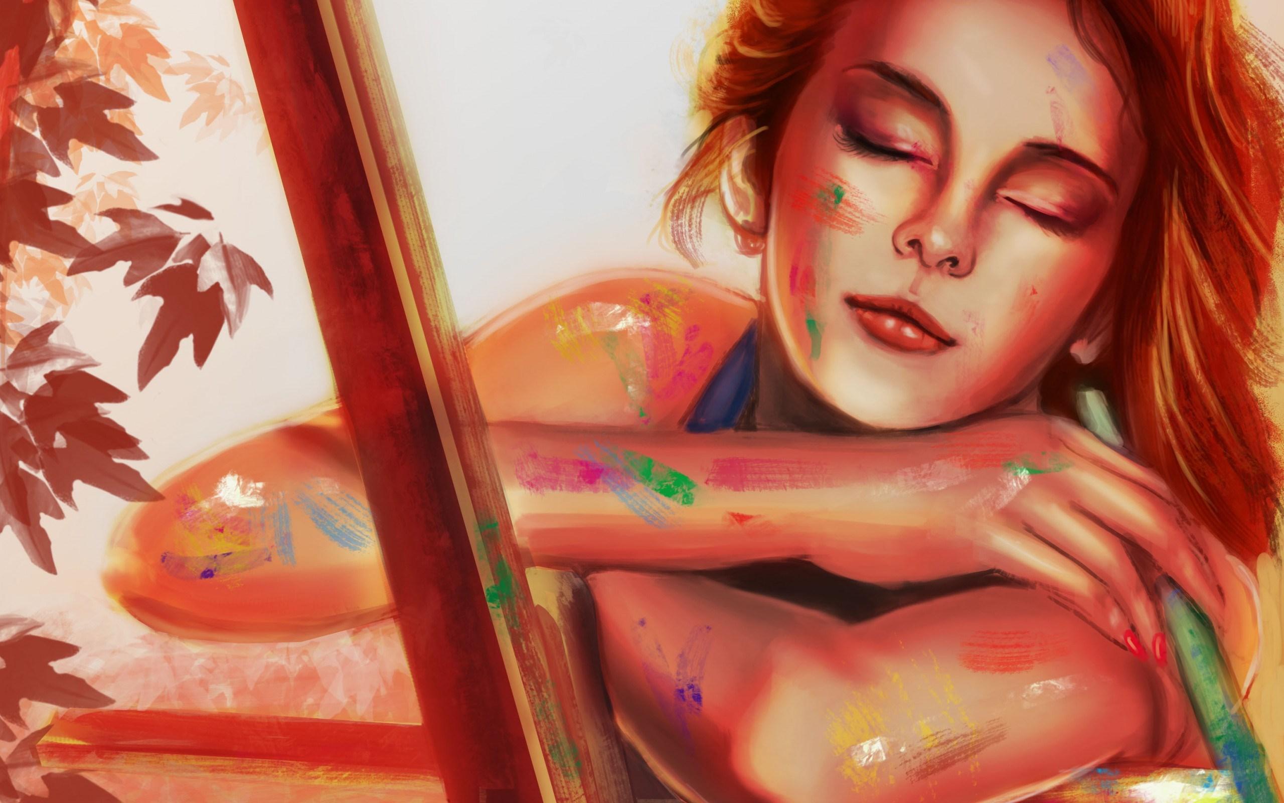 Art Girl Paint