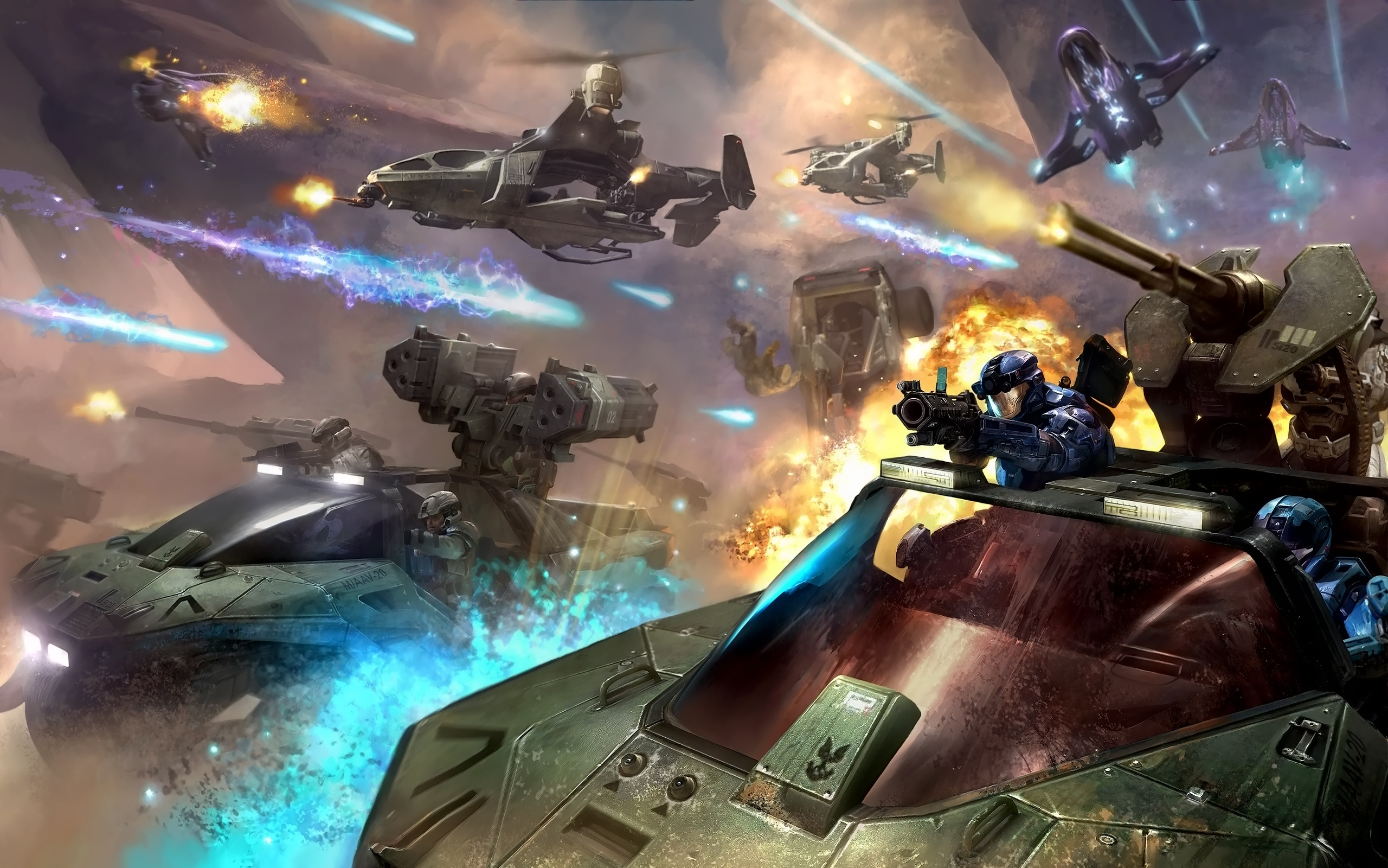 Halo Battle Art