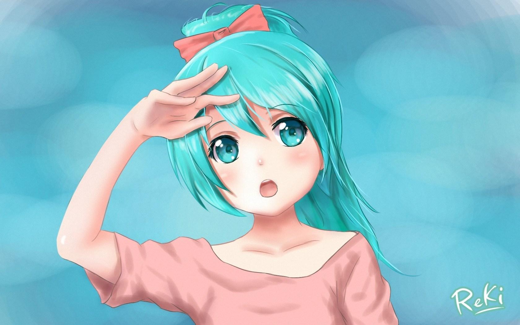 Art Vocaloid Hatsune Miku Girl