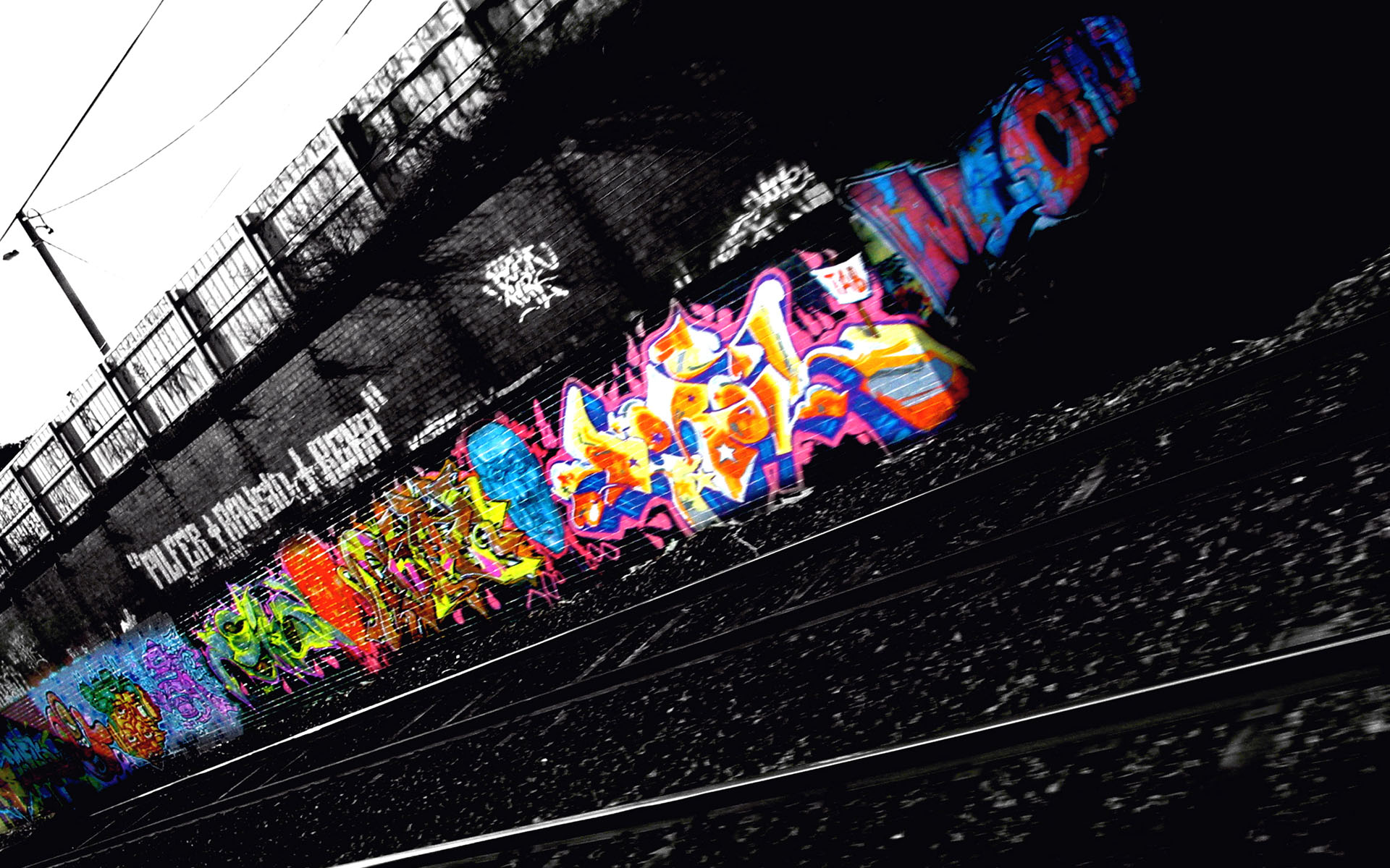 HD Wallpaper | Background ID:10356. 1920x1200 Artistic Graffiti