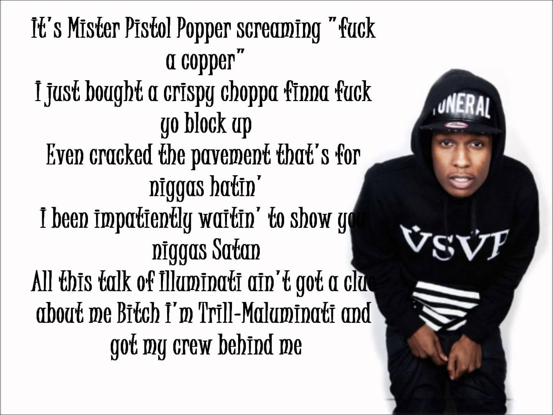 ASAP Rocky - LVL (Lyrics)