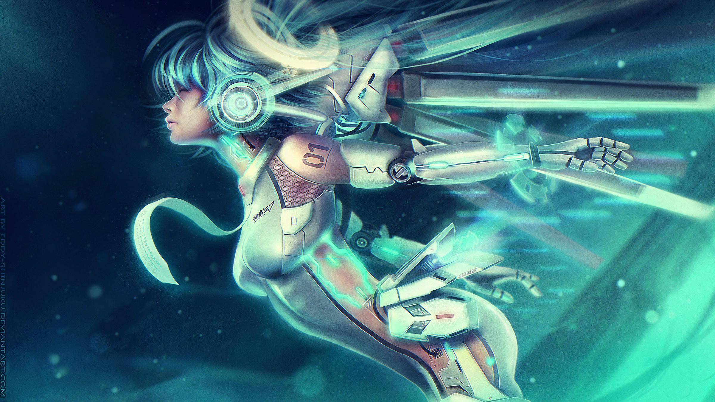 ... VOCALOID UNIT 01: Ascension Miku by Eddy-Shinjuku