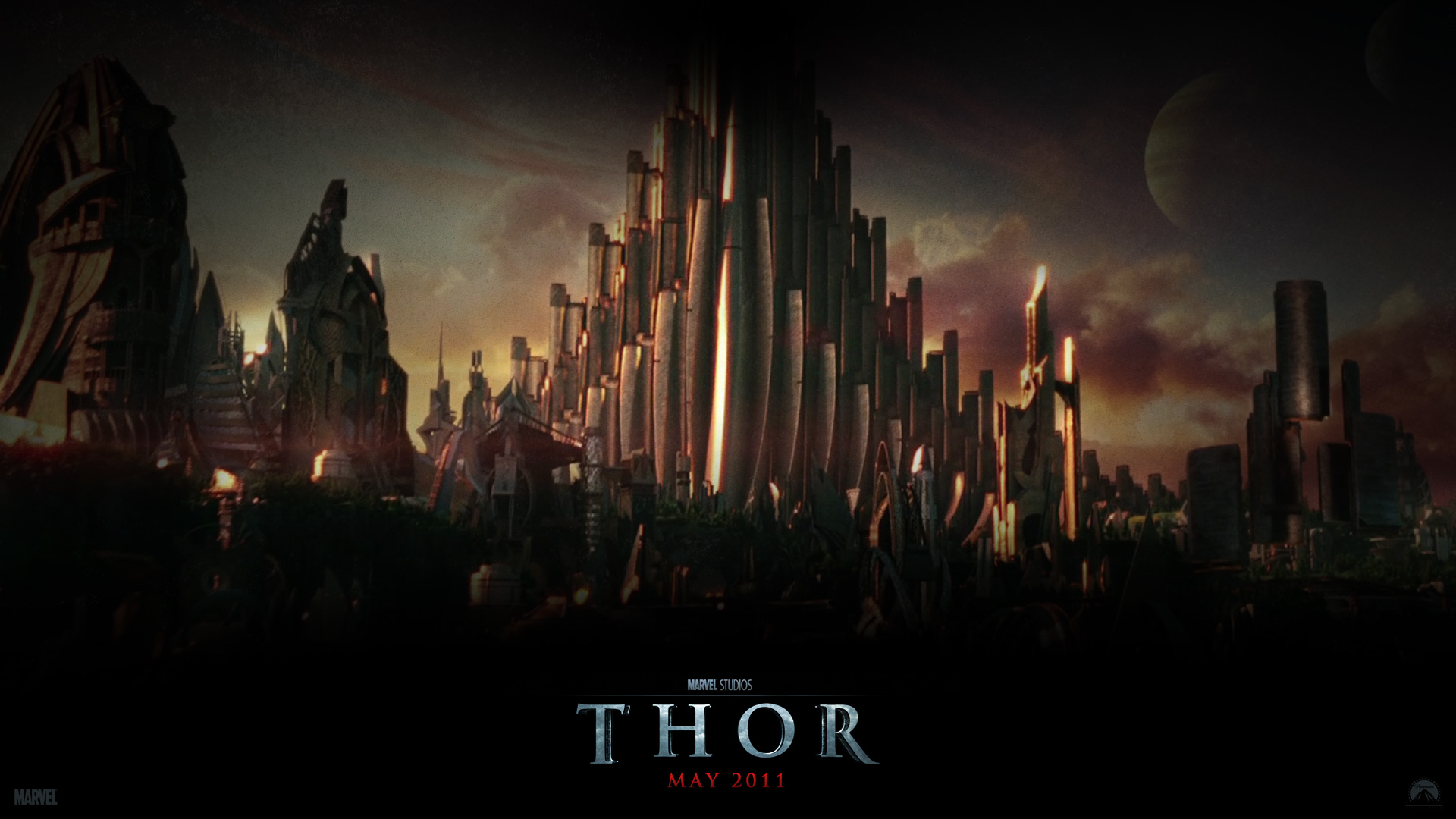 ... Asgard from the Movie Thor wallpaper - Click picture for high.