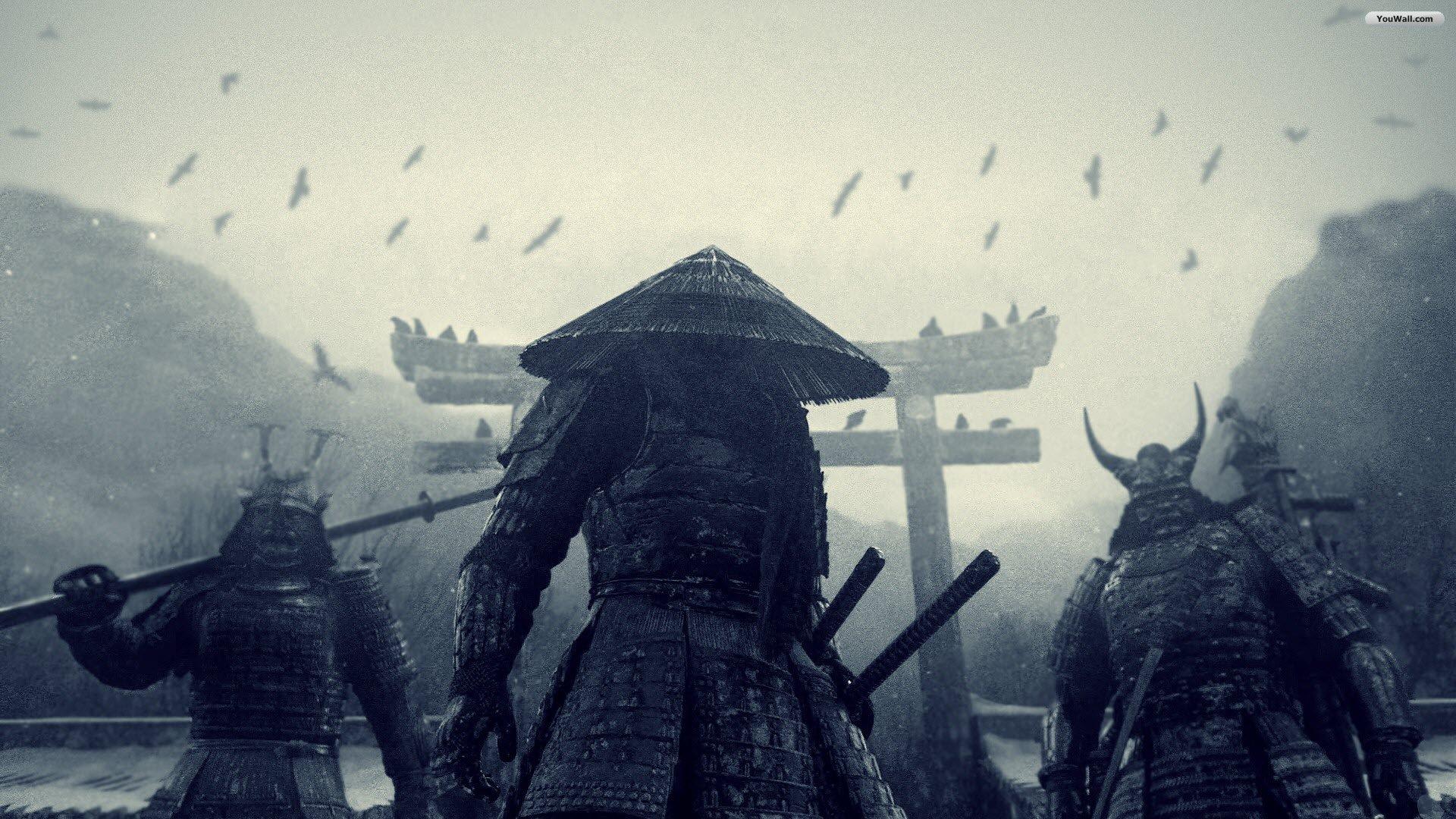 Asian Warriors Wallpaper