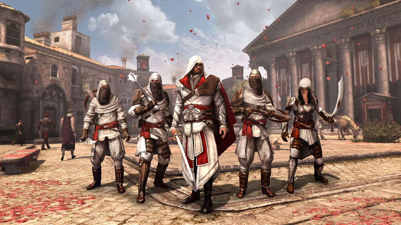 Assassins Creed Brotherhood Game