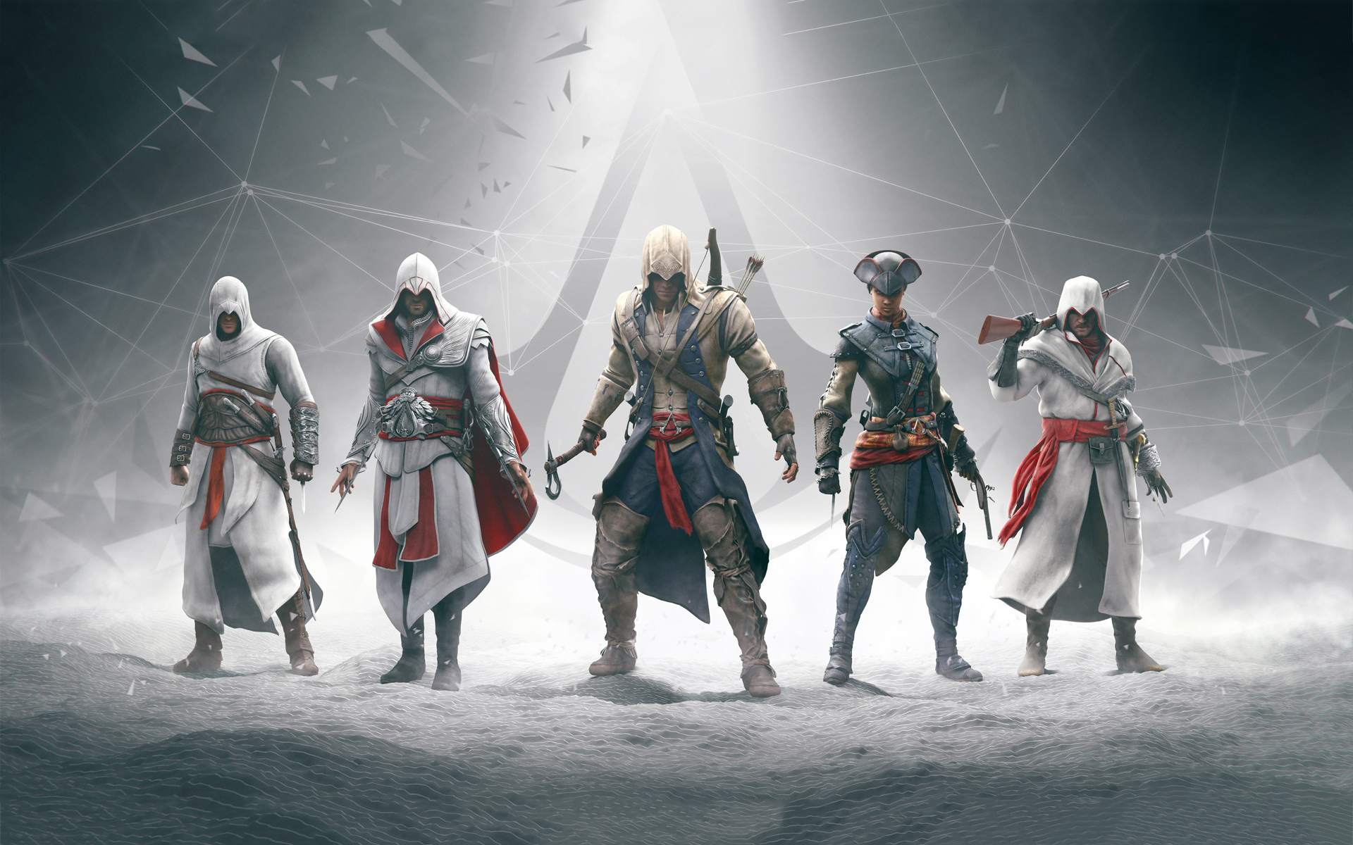 Assassins creed evolution