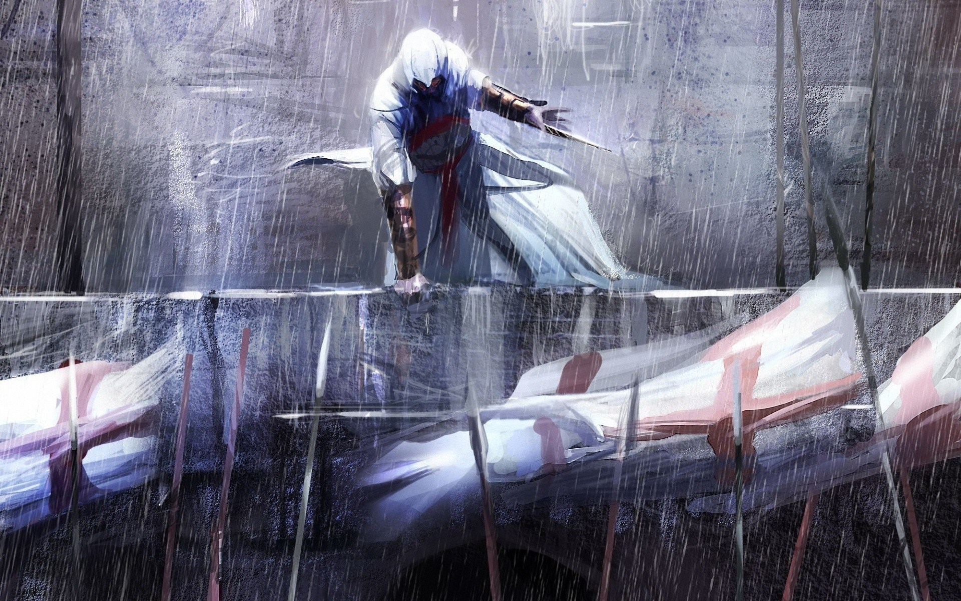 Assassins Creed Video Game Artwork