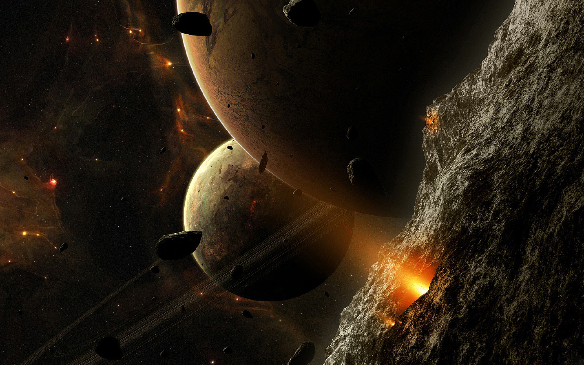 Asteroid Wallpaper