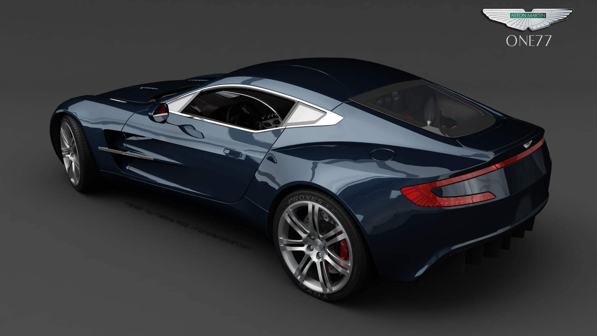 I love the one-77 Aston Martin - looks like it can take on anybody and everybody.