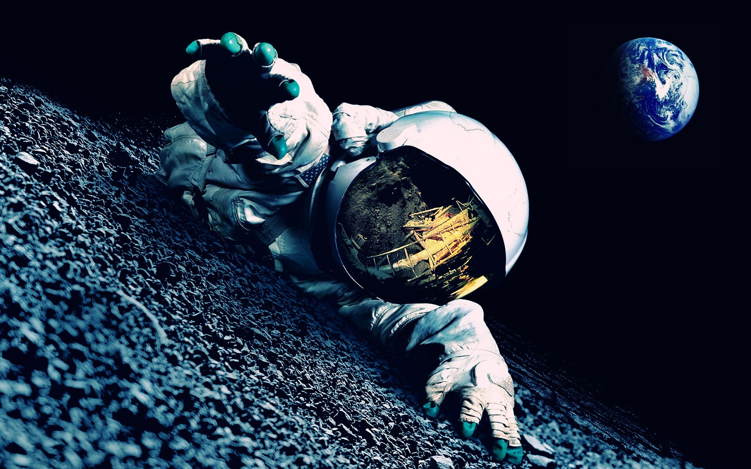 Astronaut trouble Wallpaper in 2560x1600 Widescreen