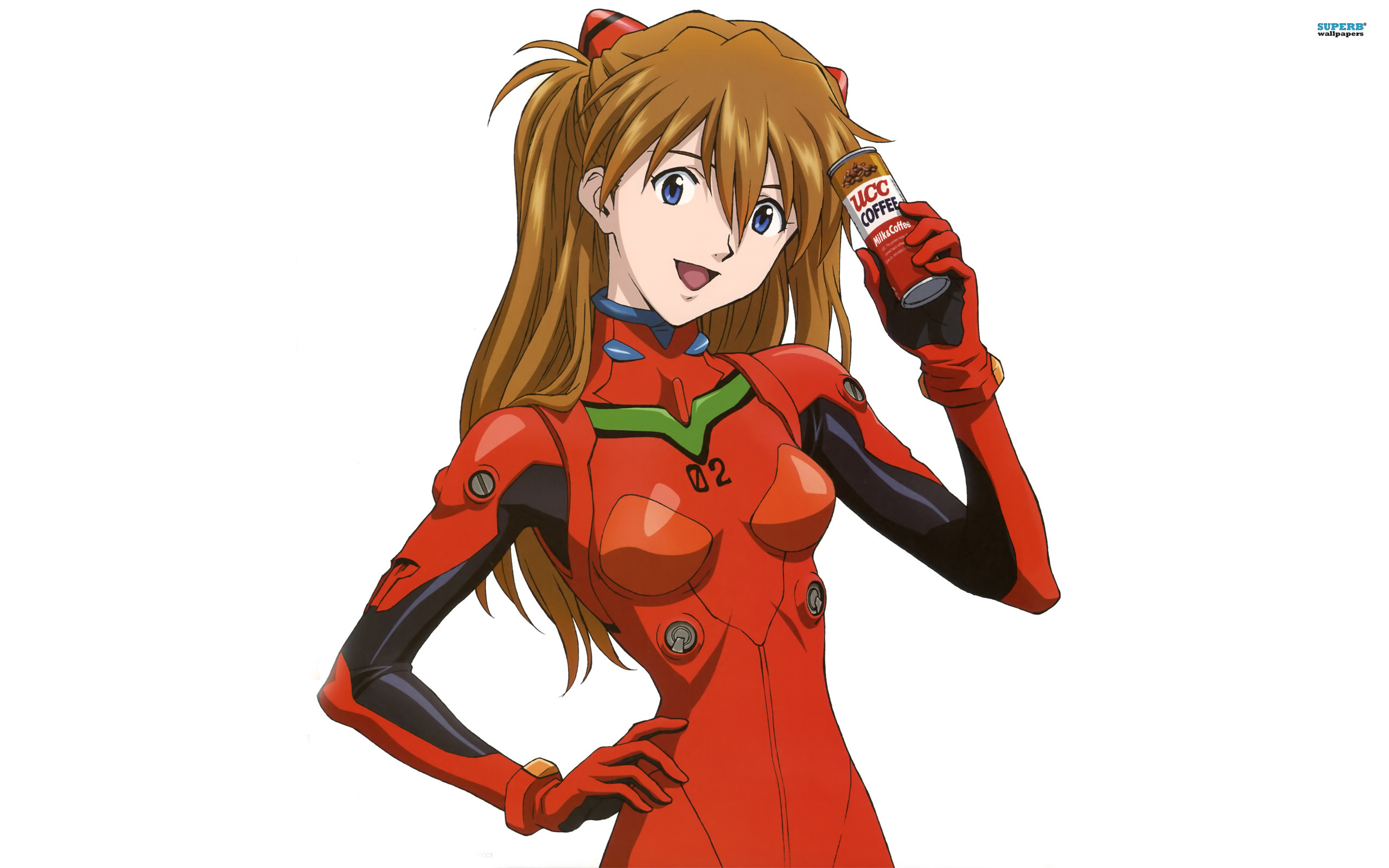 Asuka Langley Soryu wallpaper 2560x1600