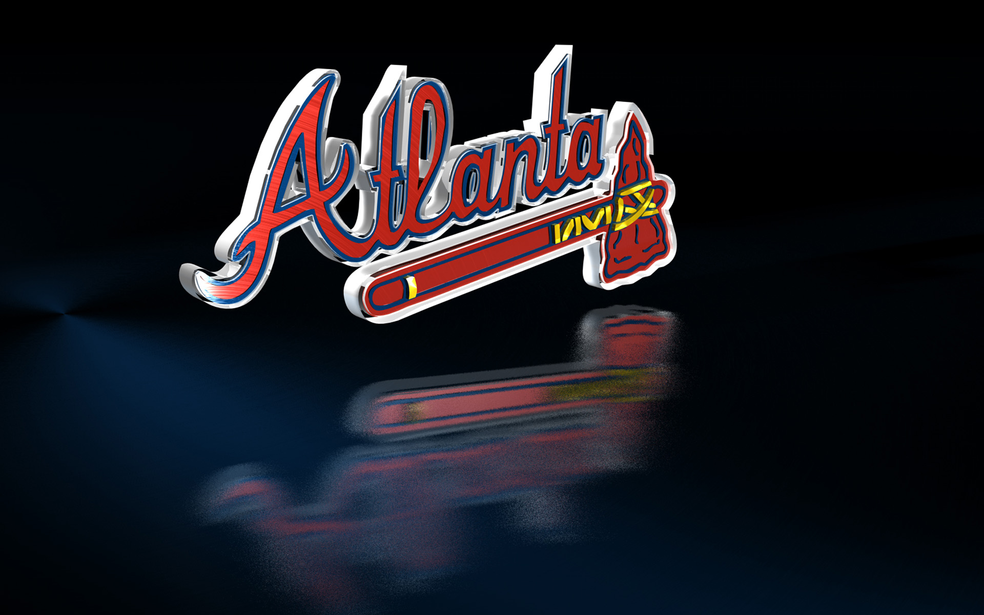 Free atlanta braves hd wallpaper 3D