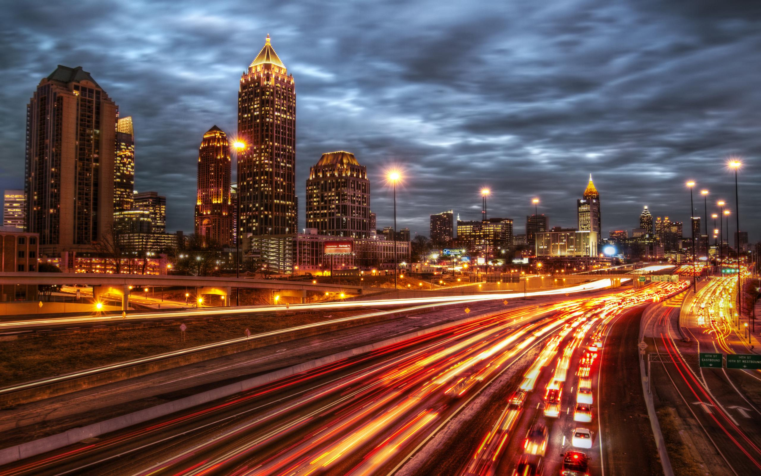 Atlanta City Night