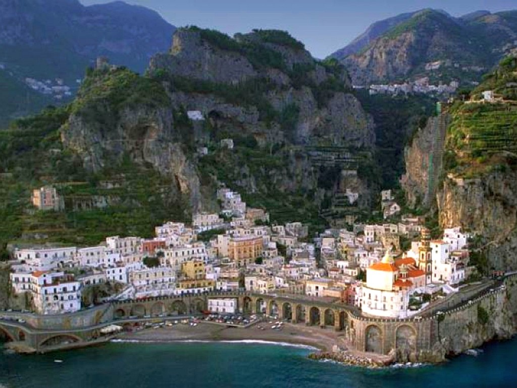 Normal 4:3 resolutions: 800 x 600 1024 x 768 Original Link. Download Town Atrani Amalfi Coast Italy ...