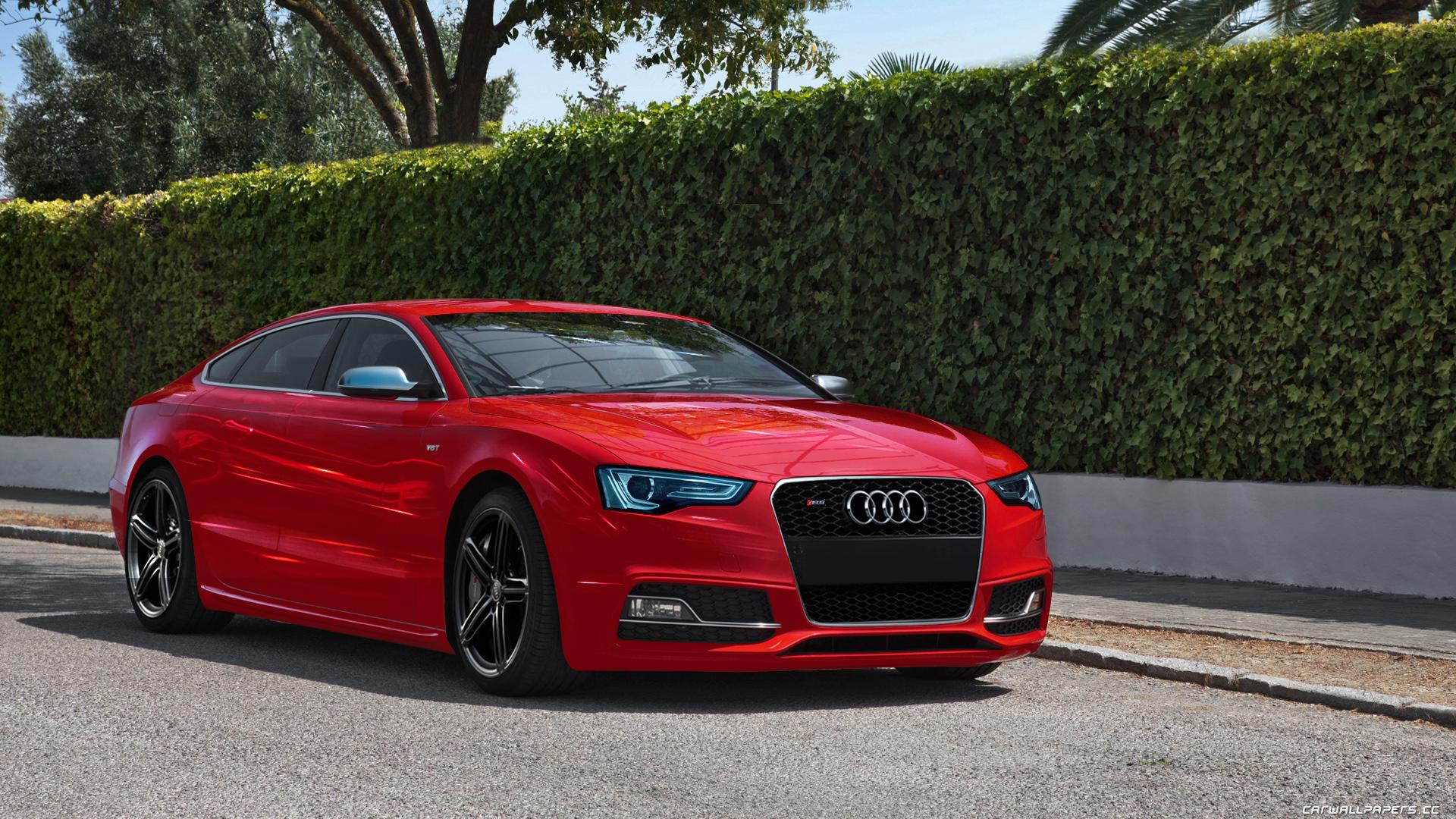 Red Audi S5 by backOPS