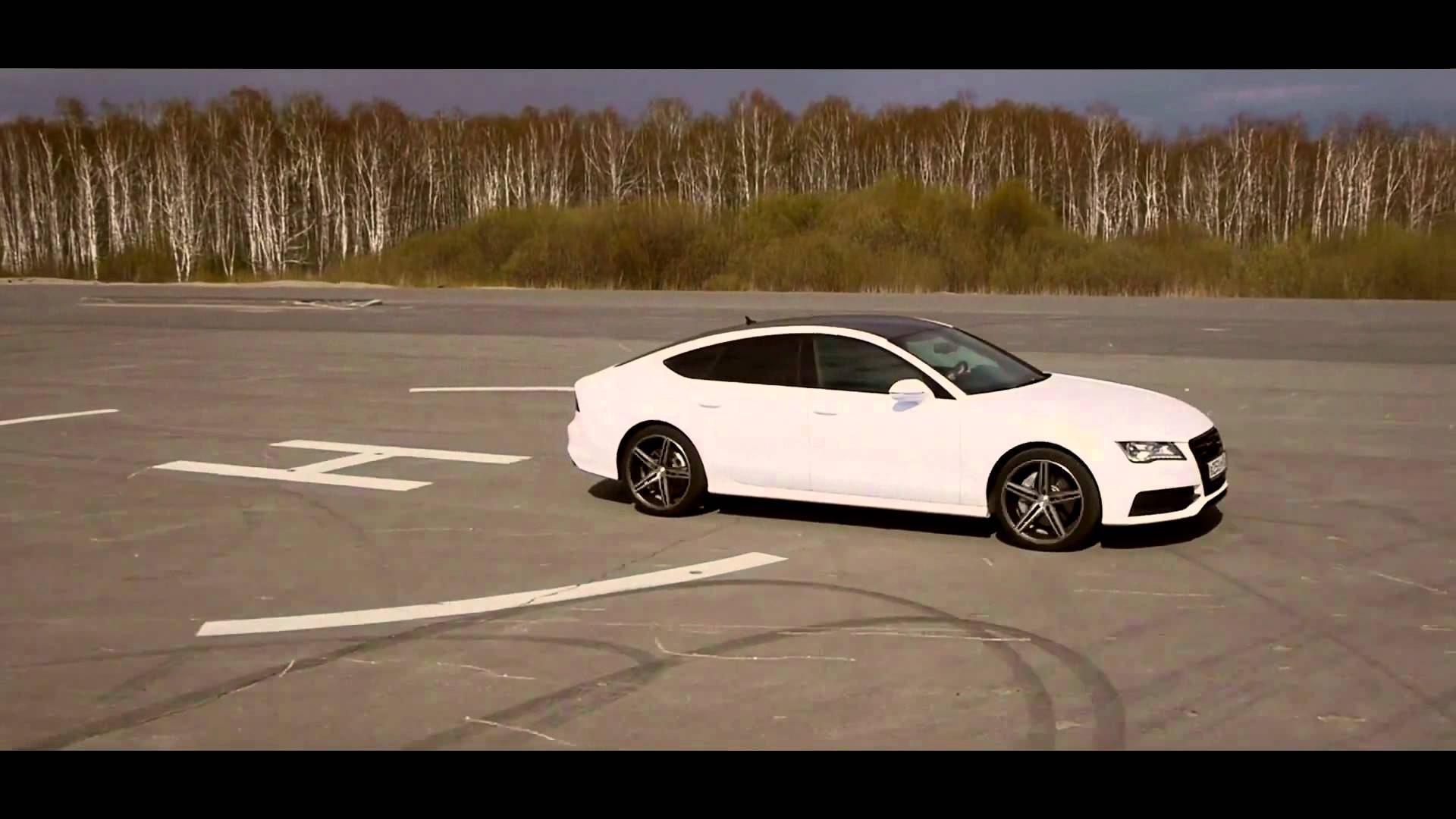Audi A7 on Vossen Wheels VVS CV5