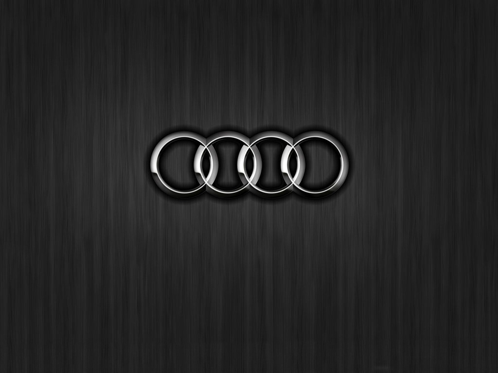 audi logo wallpaper 1024x768 8079