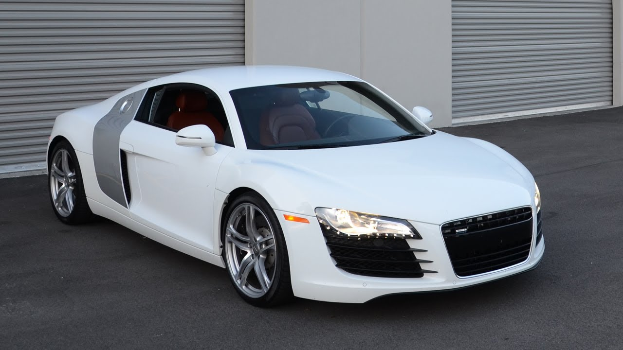 Picking up my new Audi R8