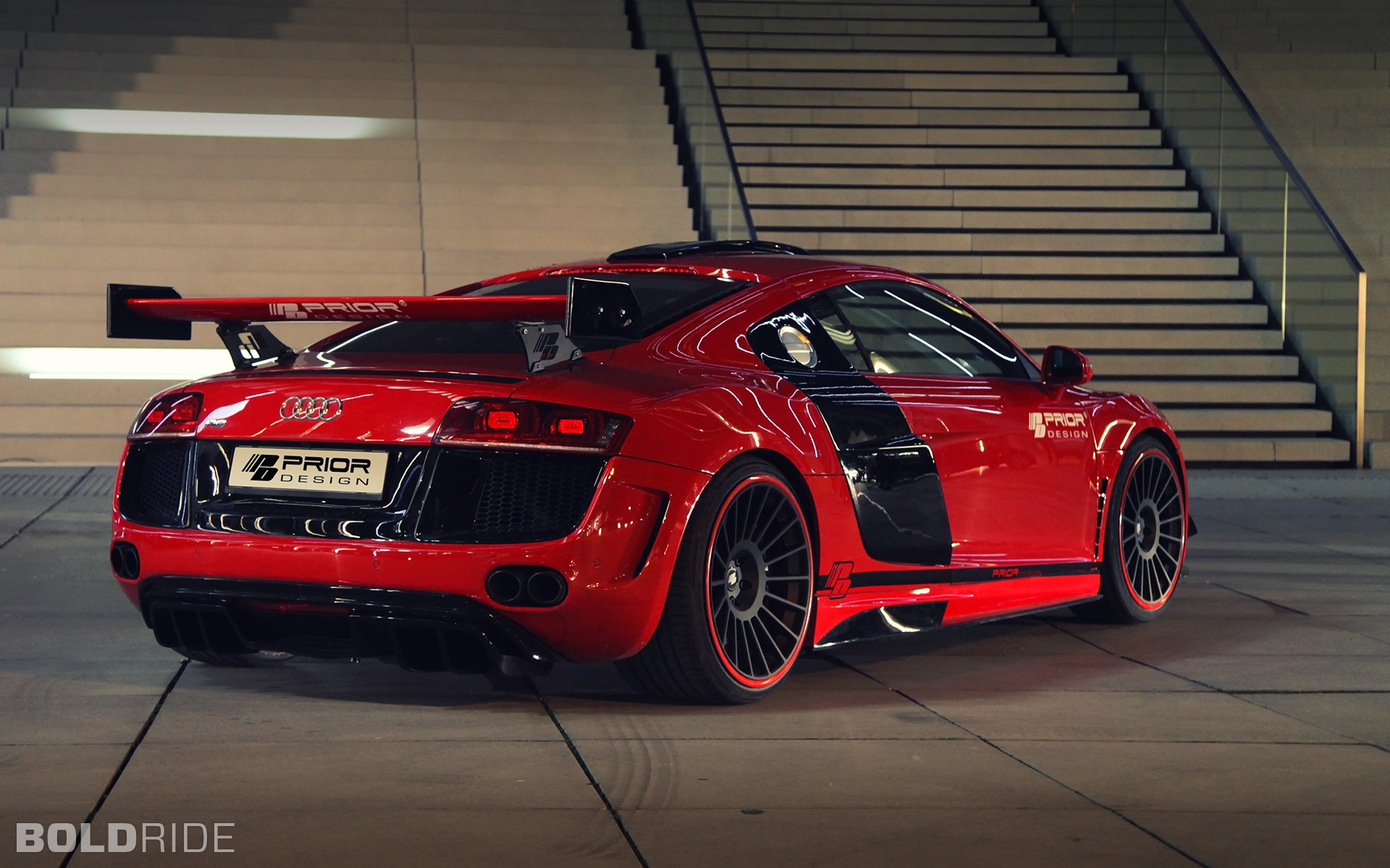2012 Prior Design Audi R8 PD GT650 1280 x 1080