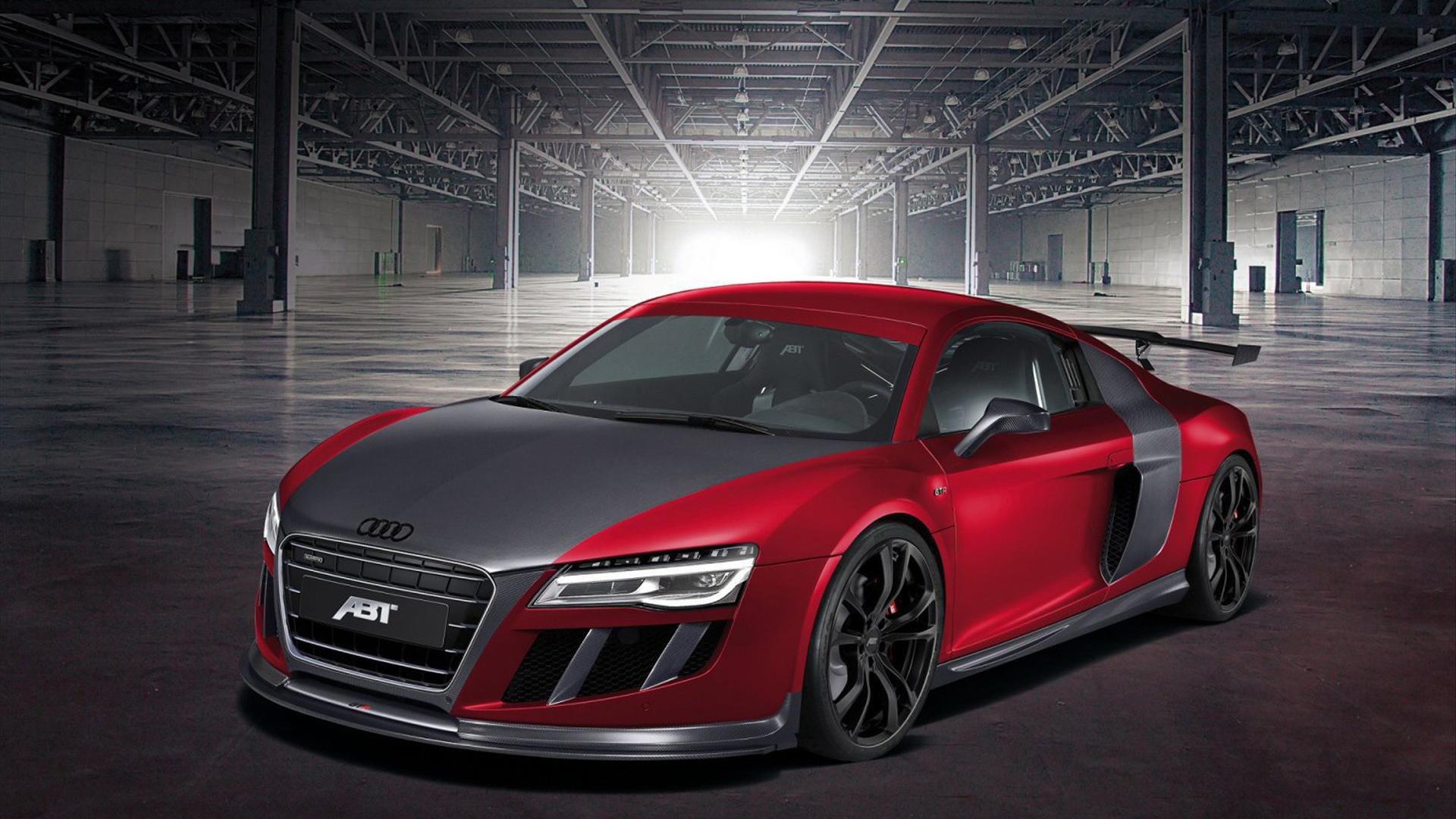 Audi R8 Black Red Image 4