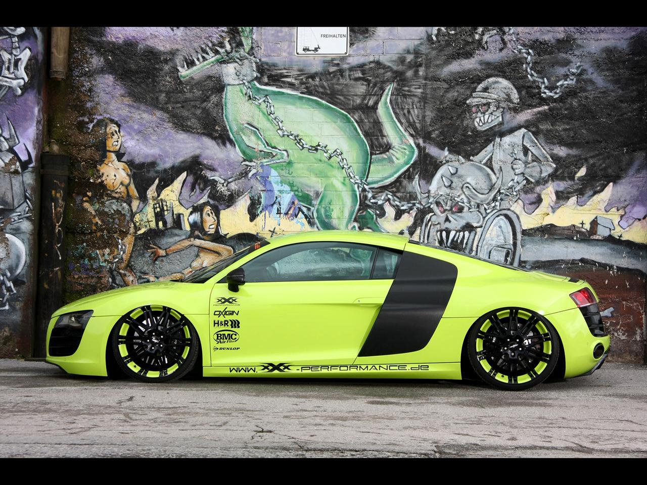 Audi R8 V10 XXX Performance