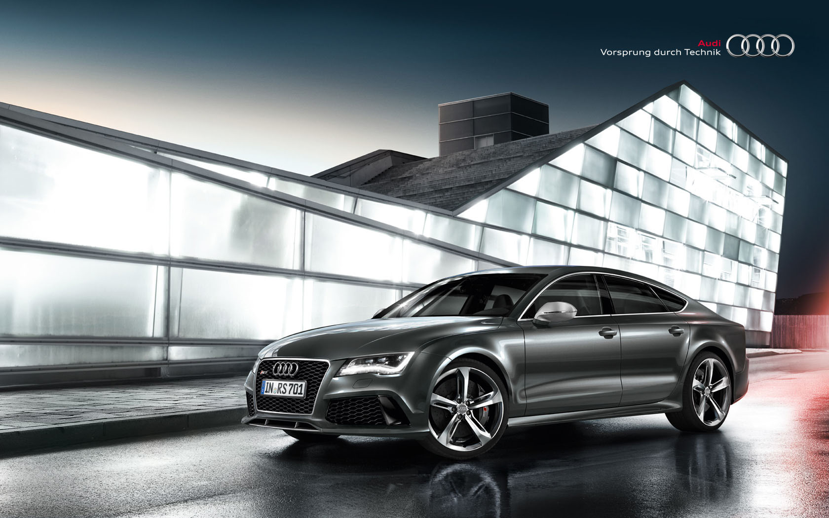 Once your download is complete, you can simply set the Audi RS7 Wallpaper 47385 as your background.