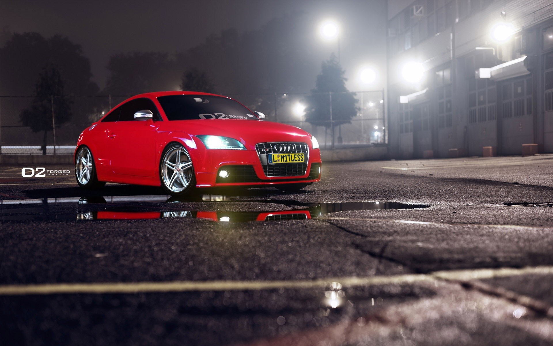 Audi TT Red Parking Lights