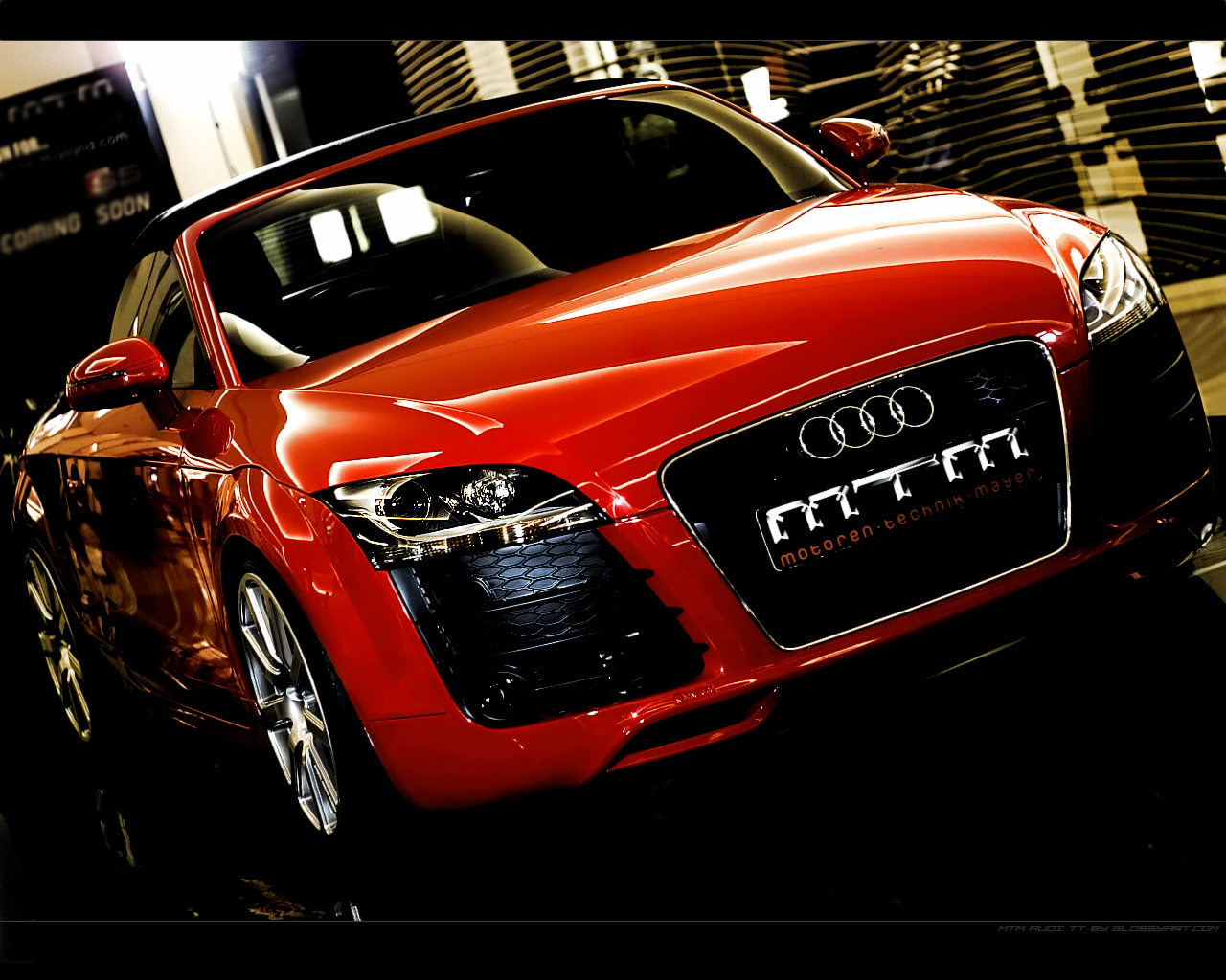 mtm Audi TT Wallpaper 2 by nxxos