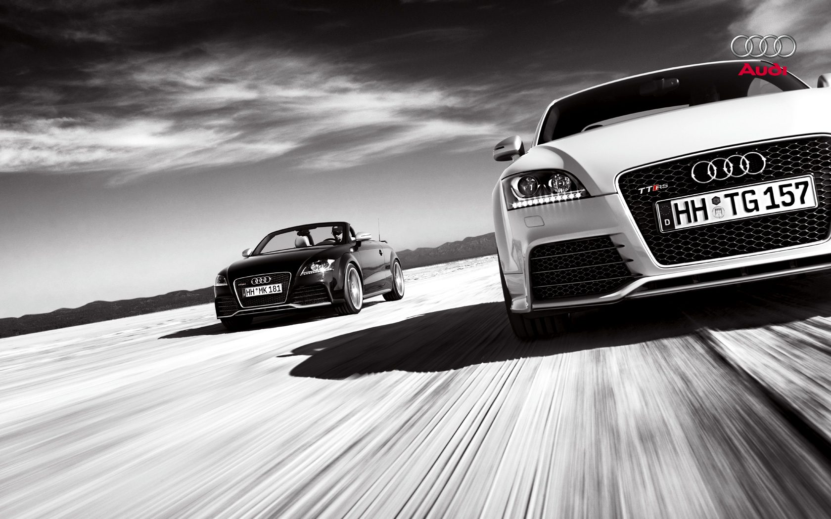 Audi TTRS Res: 1680x1050 / Size:251kb. Views: 25410